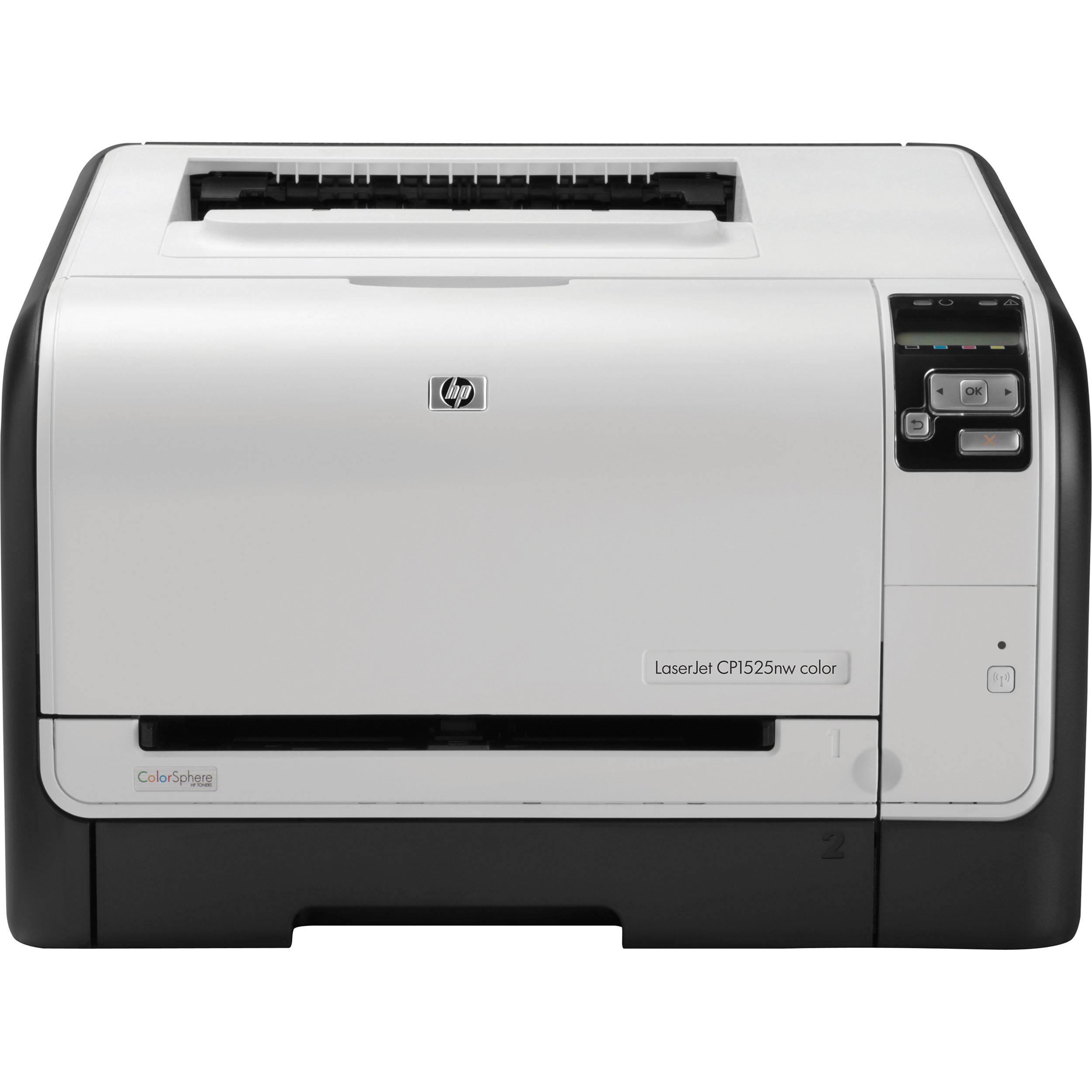 HP LaserJet Pro CP1525nw Color Laser E Printer CE875ABGJ BampH