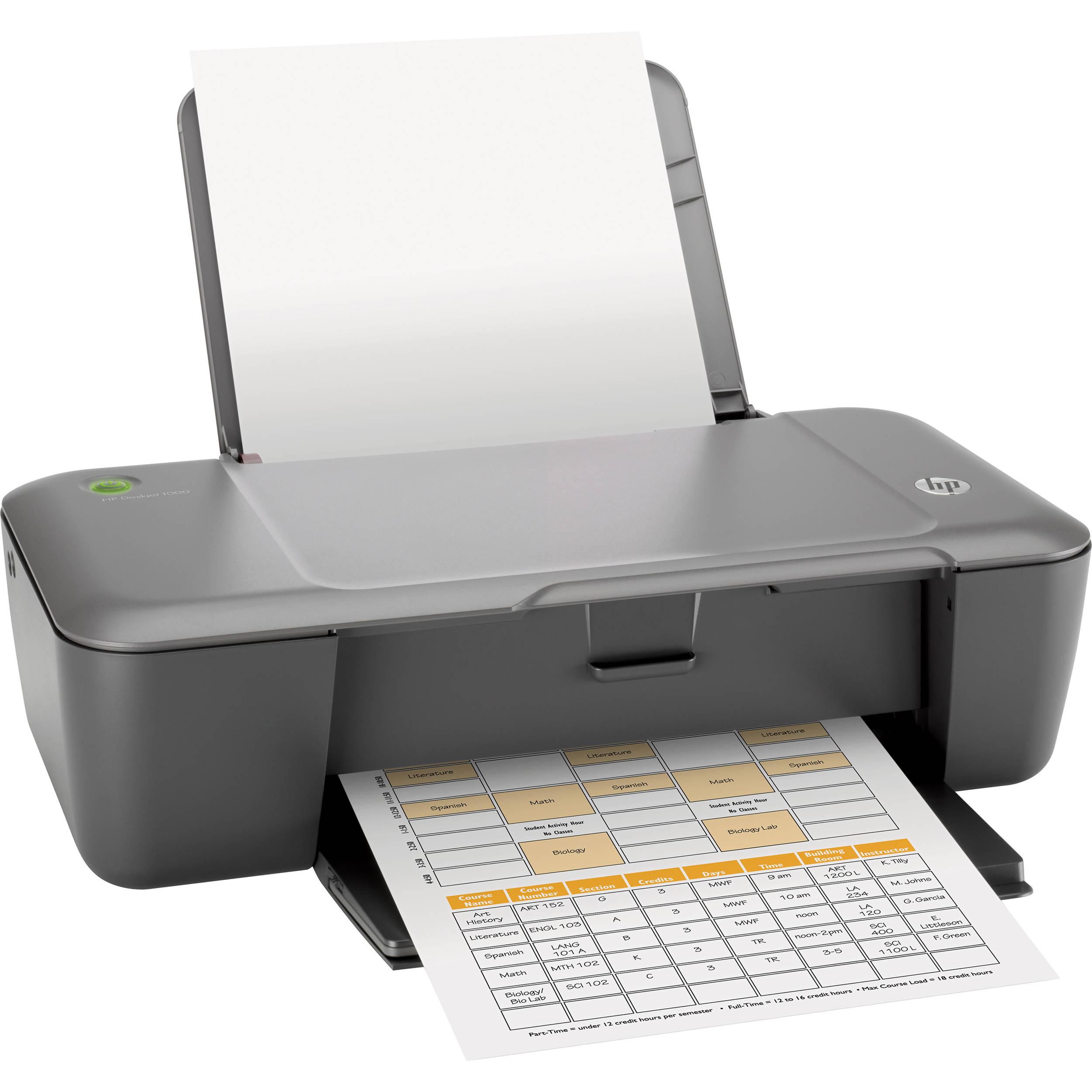 hp deskjet 1000 color inkjet printer ch340a b1h b h photo video rh bhphotovideo com HP Deskjet 1000 Printer Installation HP Deskjet 1000 Printer