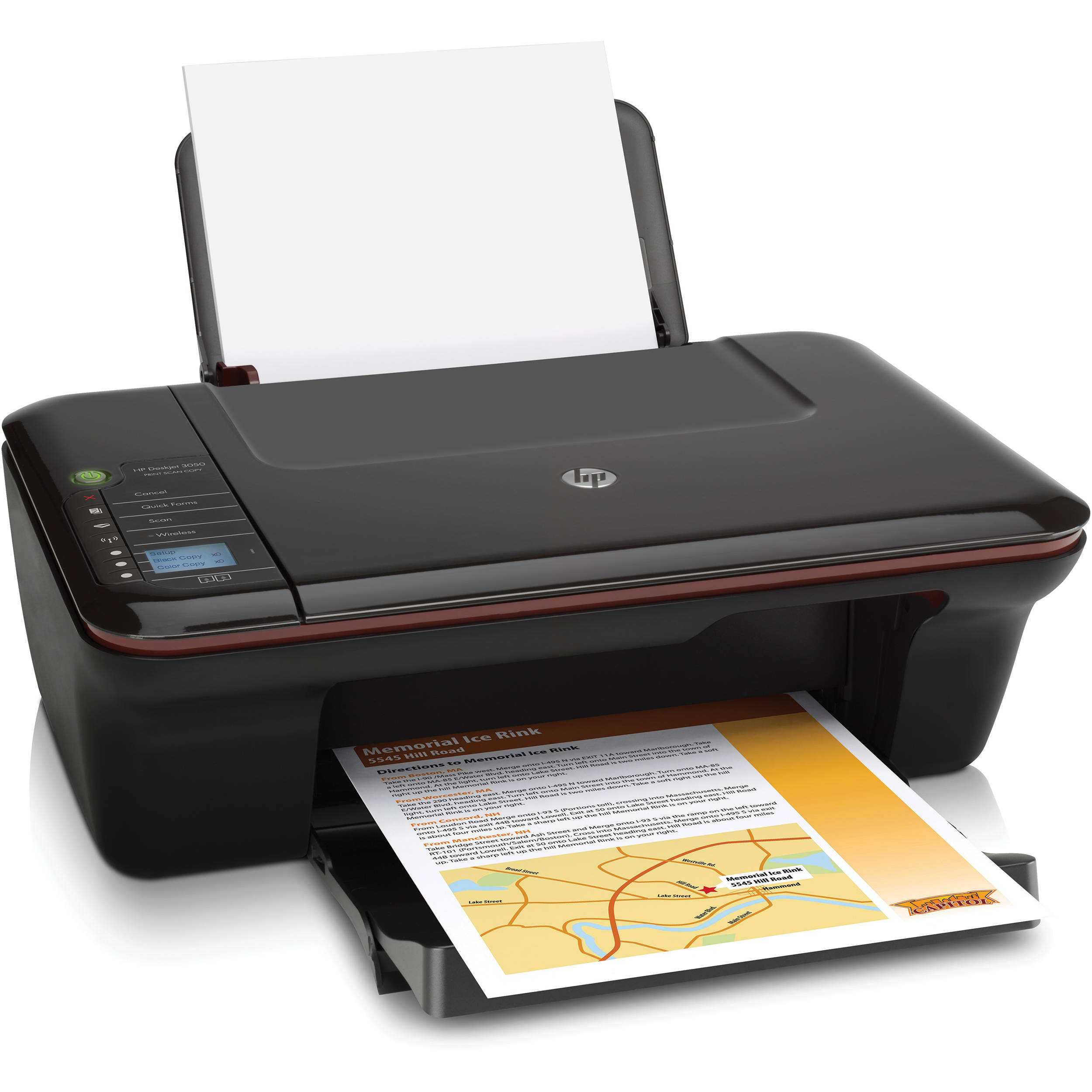 hp deskjet 3050 wireless all in one color inkjet ch376a b1h b h. Black Bedroom Furniture Sets. Home Design Ideas