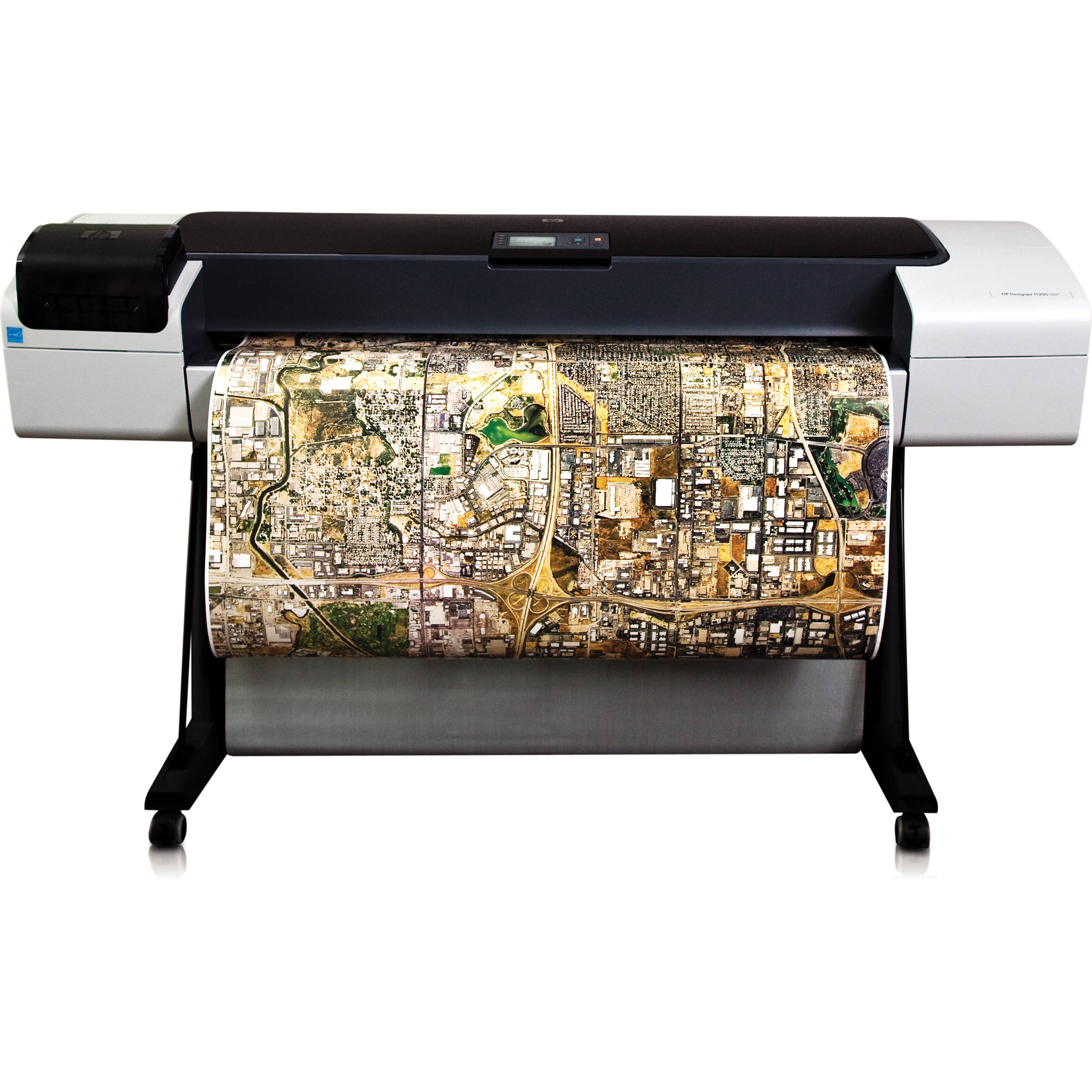 hp designjet t1200ps 44 plotter printer ck834ab1k b h rh bhphotovideo com hp designjet t1200 user guide hp designjet t1500 user manual