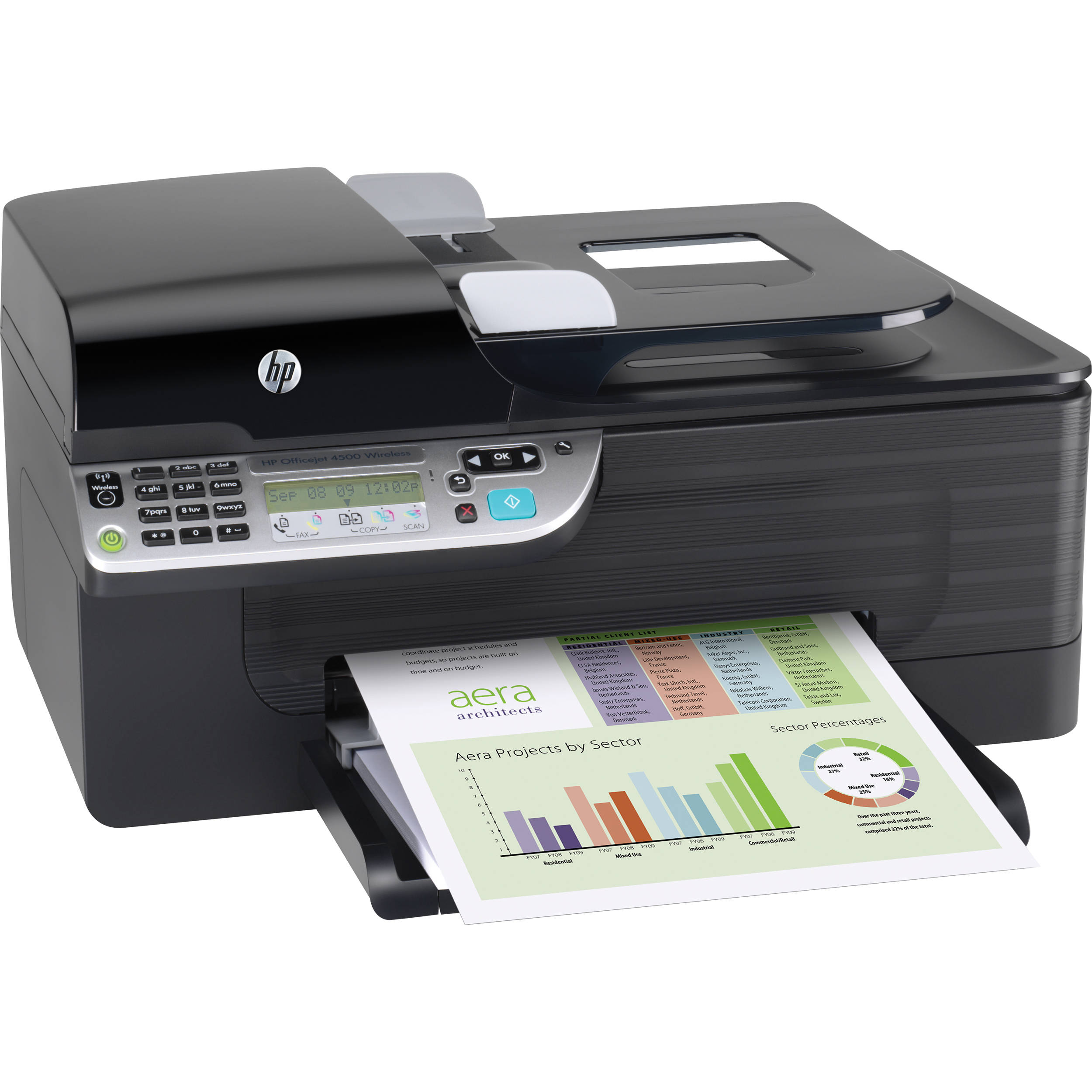 hp cn547a officejet 4500 wireless all in one printer cn547a b1h. Black Bedroom Furniture Sets. Home Design Ideas