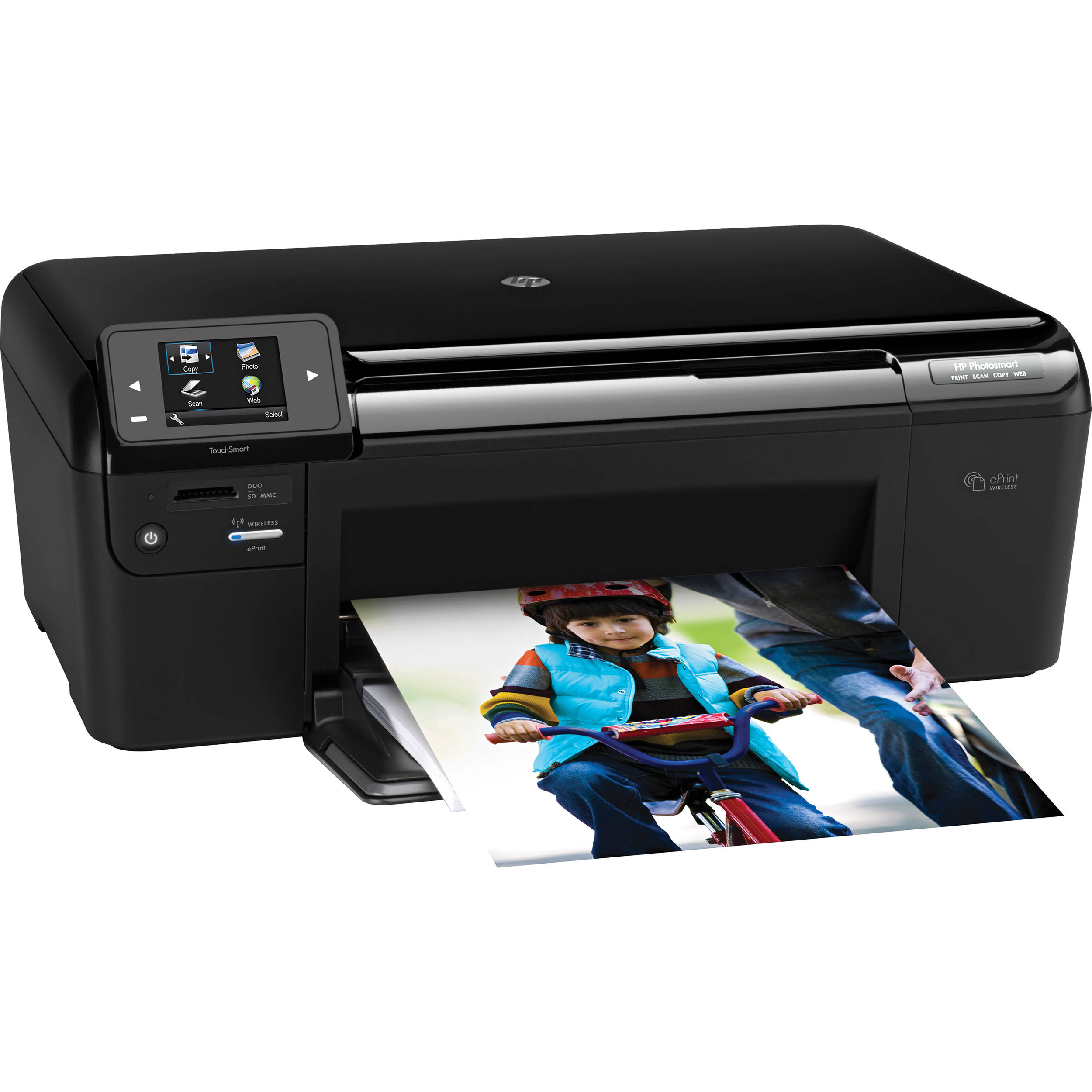 HP Photosmart D110A e-All-in-One Printer CN731A#B1H B&H Photo: www.bhphotovideo.com/c/product/713994-REG/HP_Hewlett_Packard_CN731A...