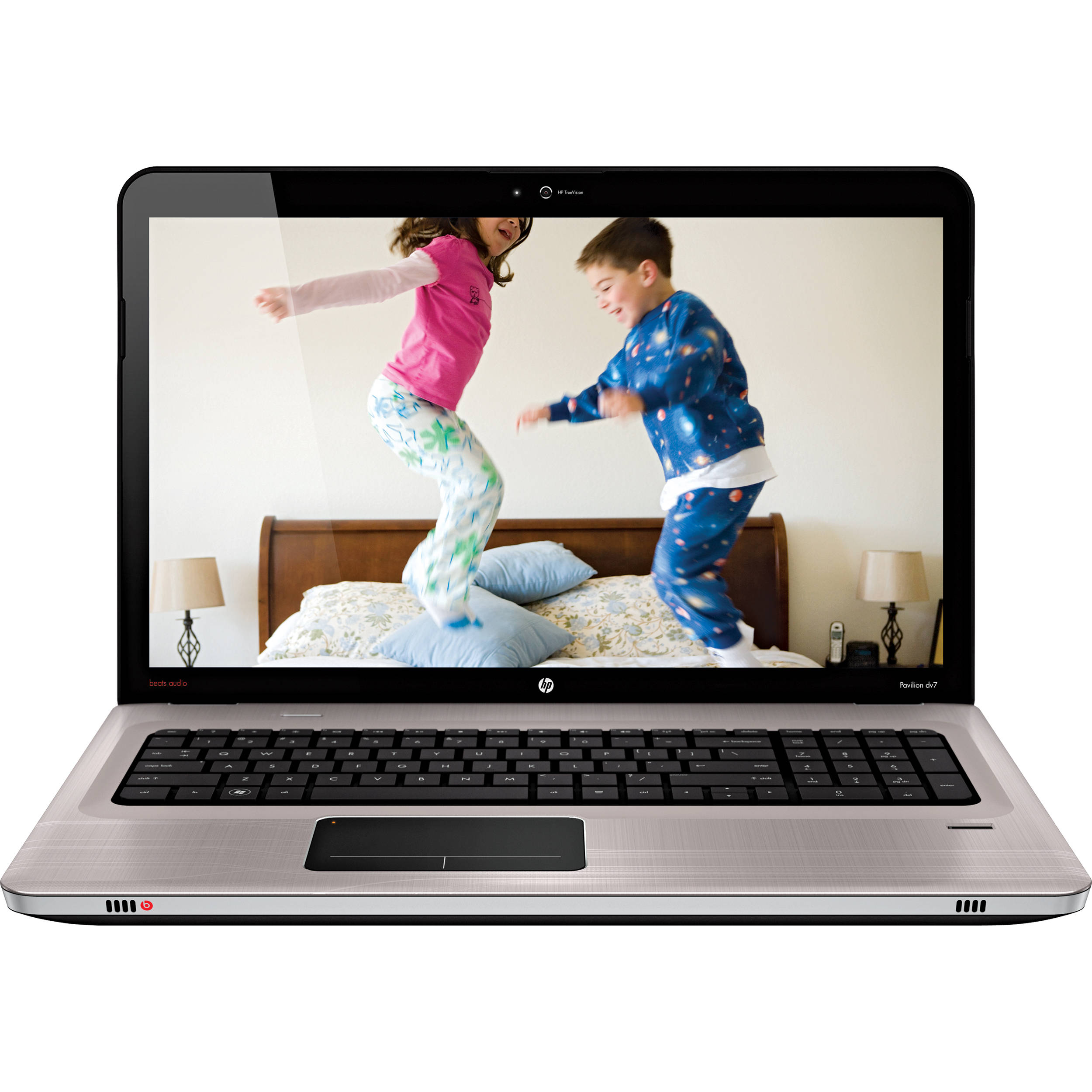 "HP Pavilion dv7-6195us Entertainment 17.3"" Notebook Computer (Steel Gray  Brushed Aluminum)"