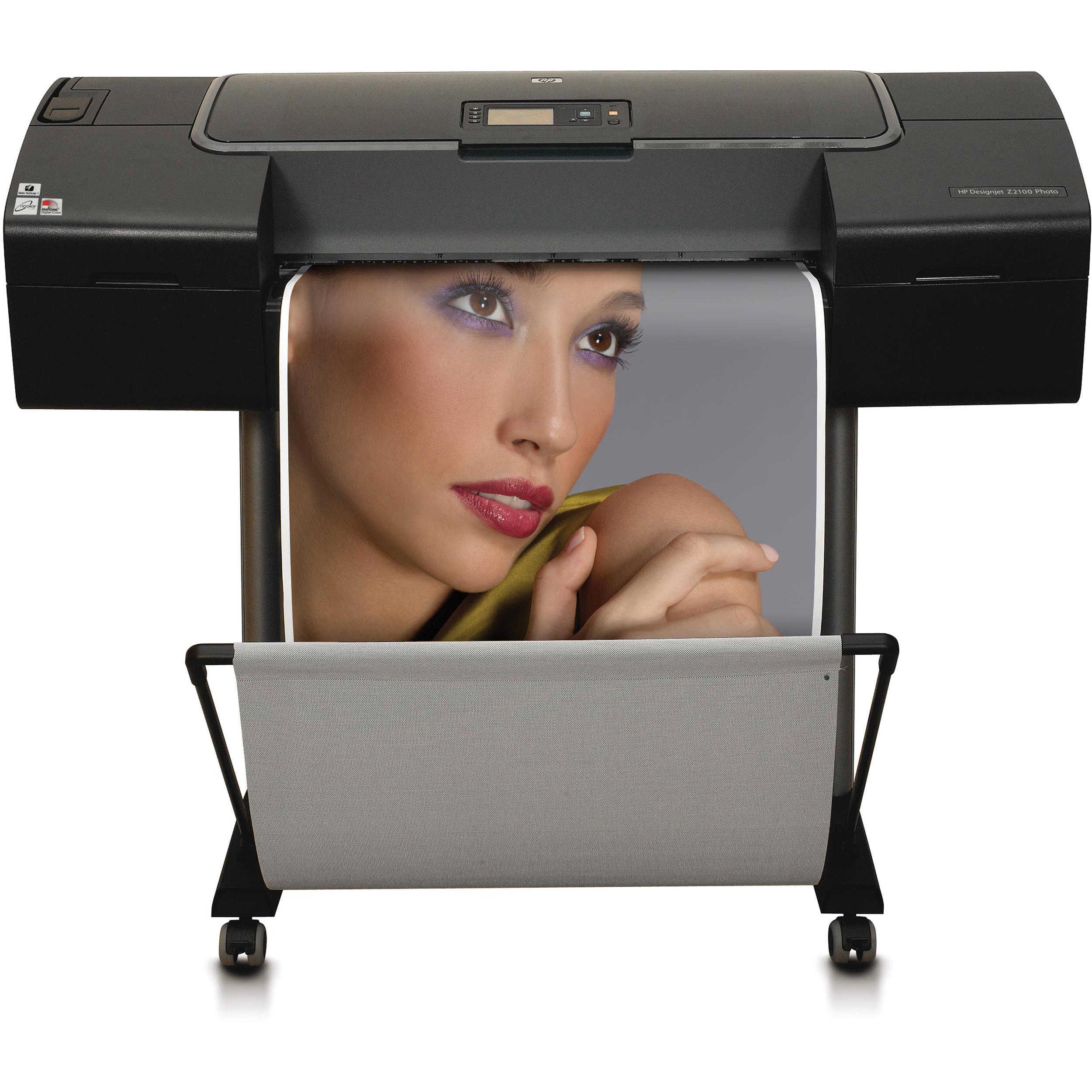 HP DesignJet Z2100 Photo Printer HP Official Site Hp designjet z2100 photo printer series