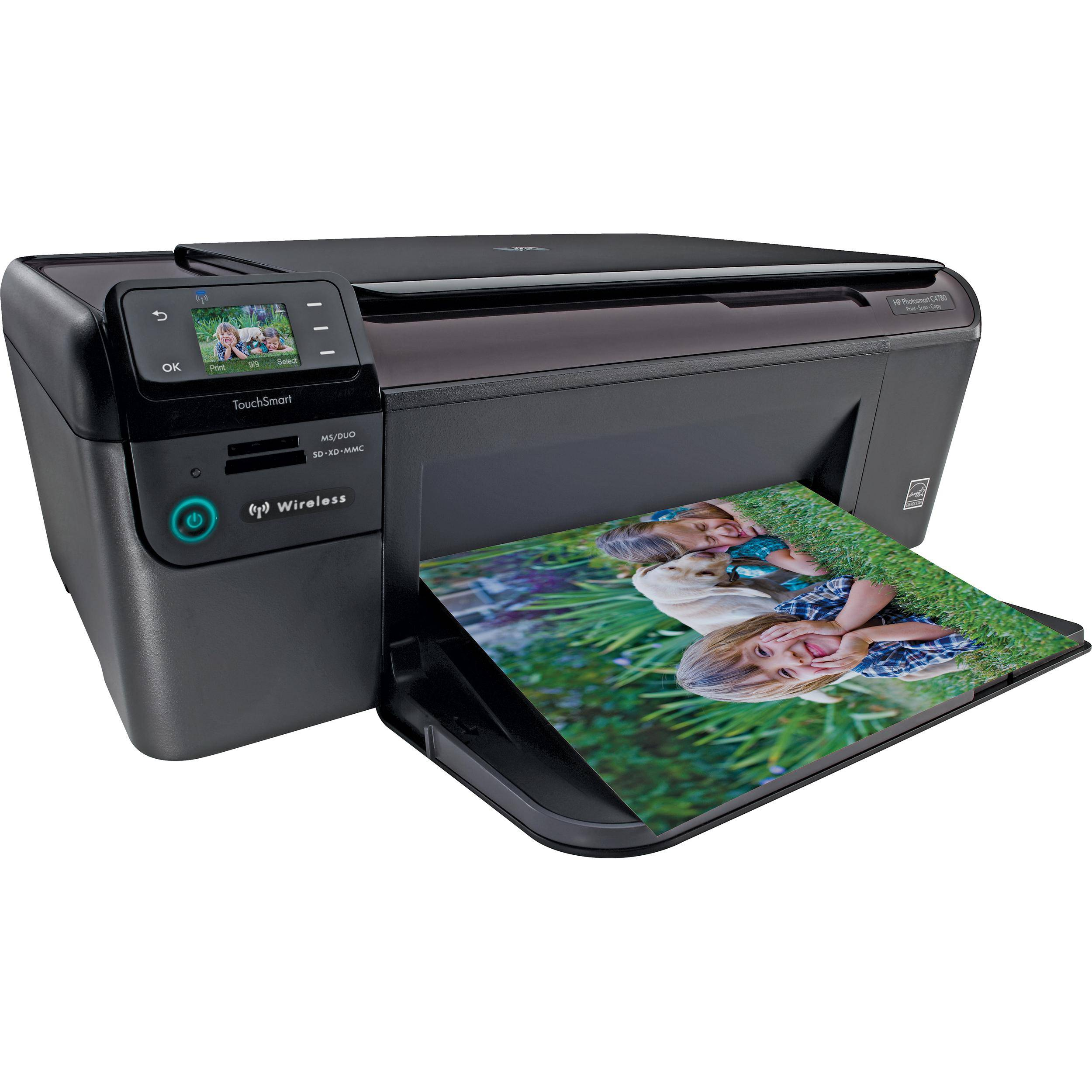 HP Photosmart C4780 All-in-One Wireless Printer