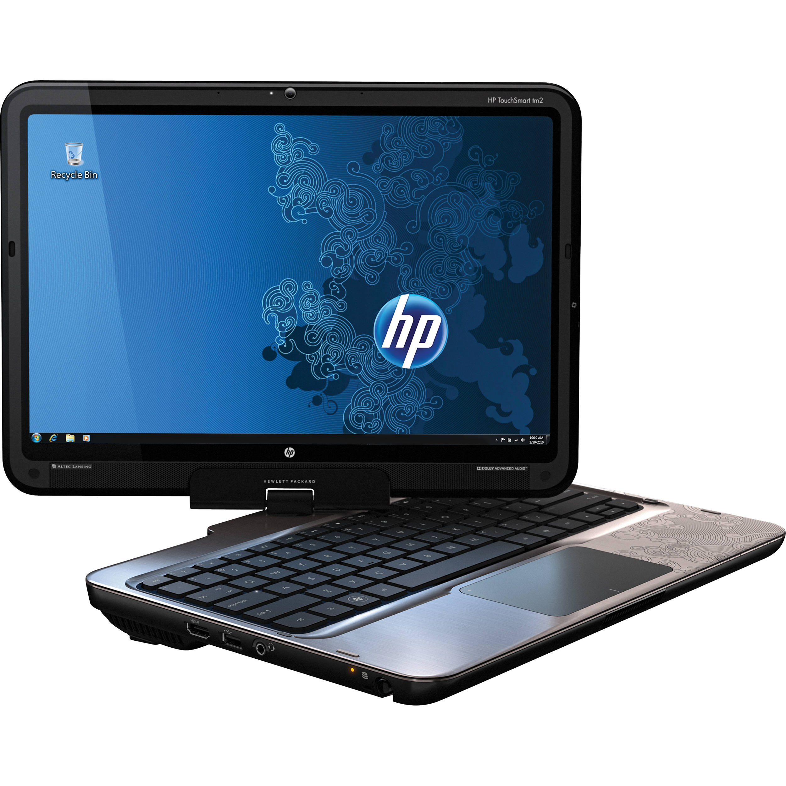 Hp touchsmart tm2 2150us 12 1 tablet notebook xg892ua aba for Notebook tablet