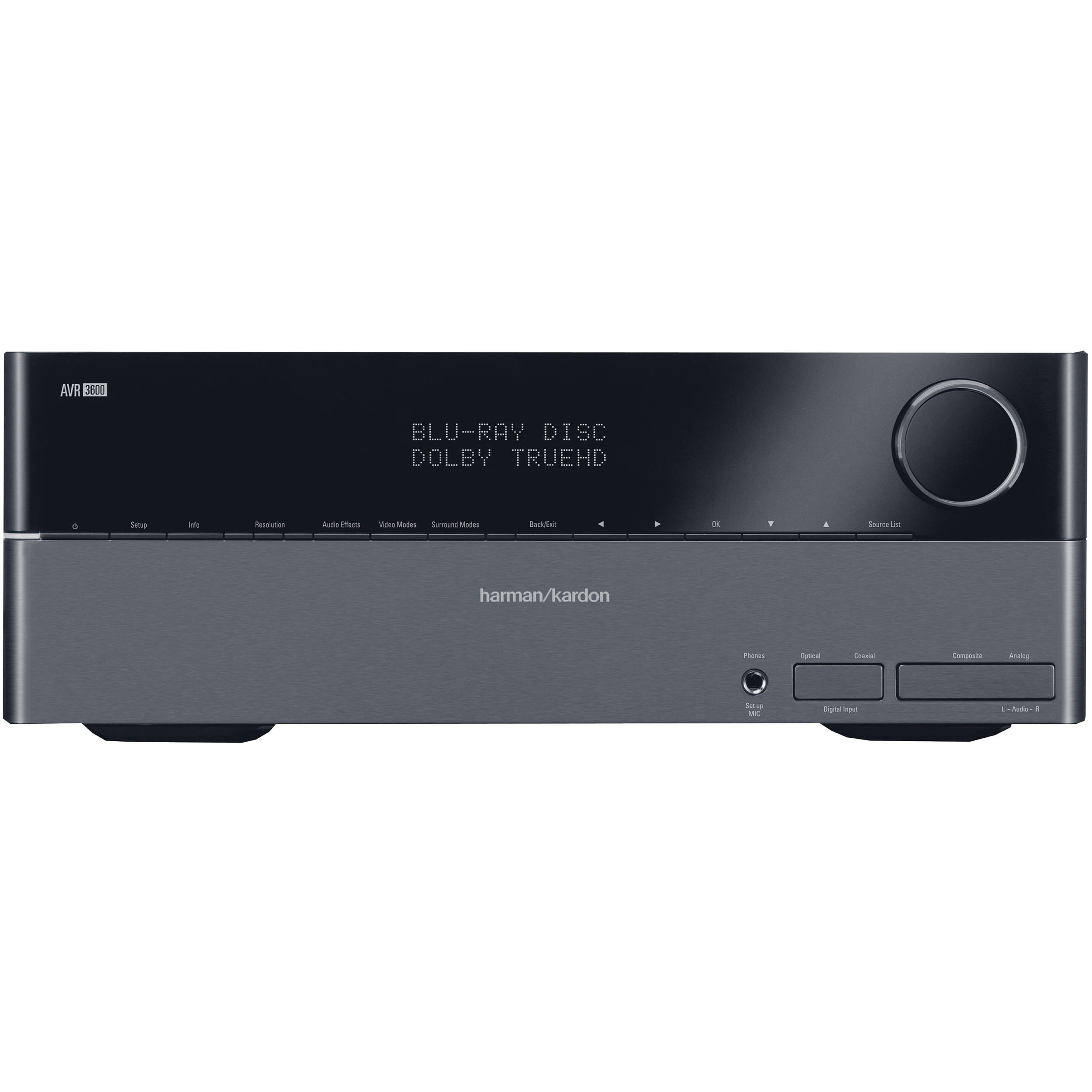 Harman Kardon Avr 3600 71 Channel A V Receiver Avr3600 Bh Download Image Usb Programmer Pc Android Iphone And Ipad