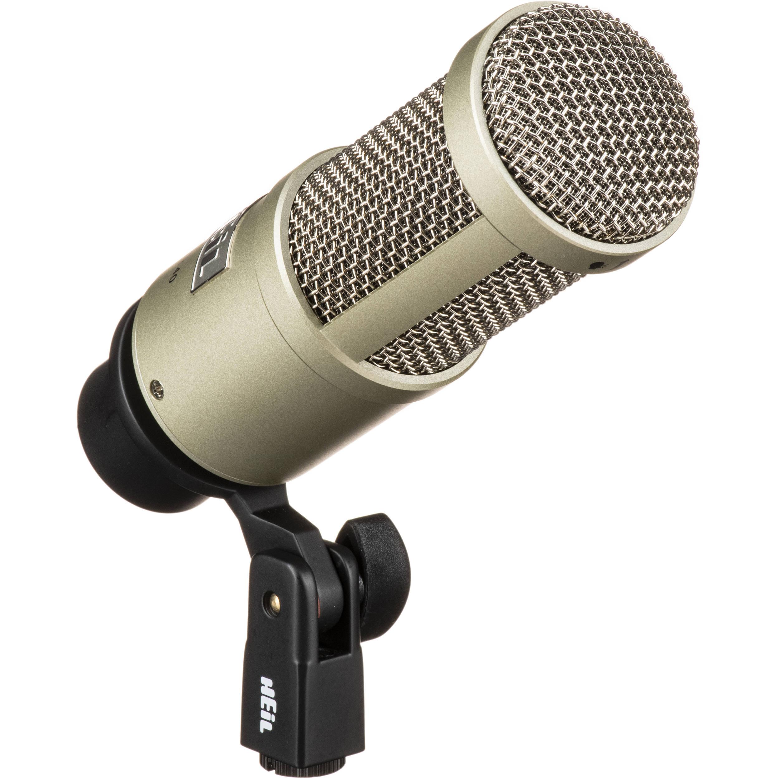 Heil sound pr 40 dynamic cardioid studio microphone pr 40 b h for Super studio