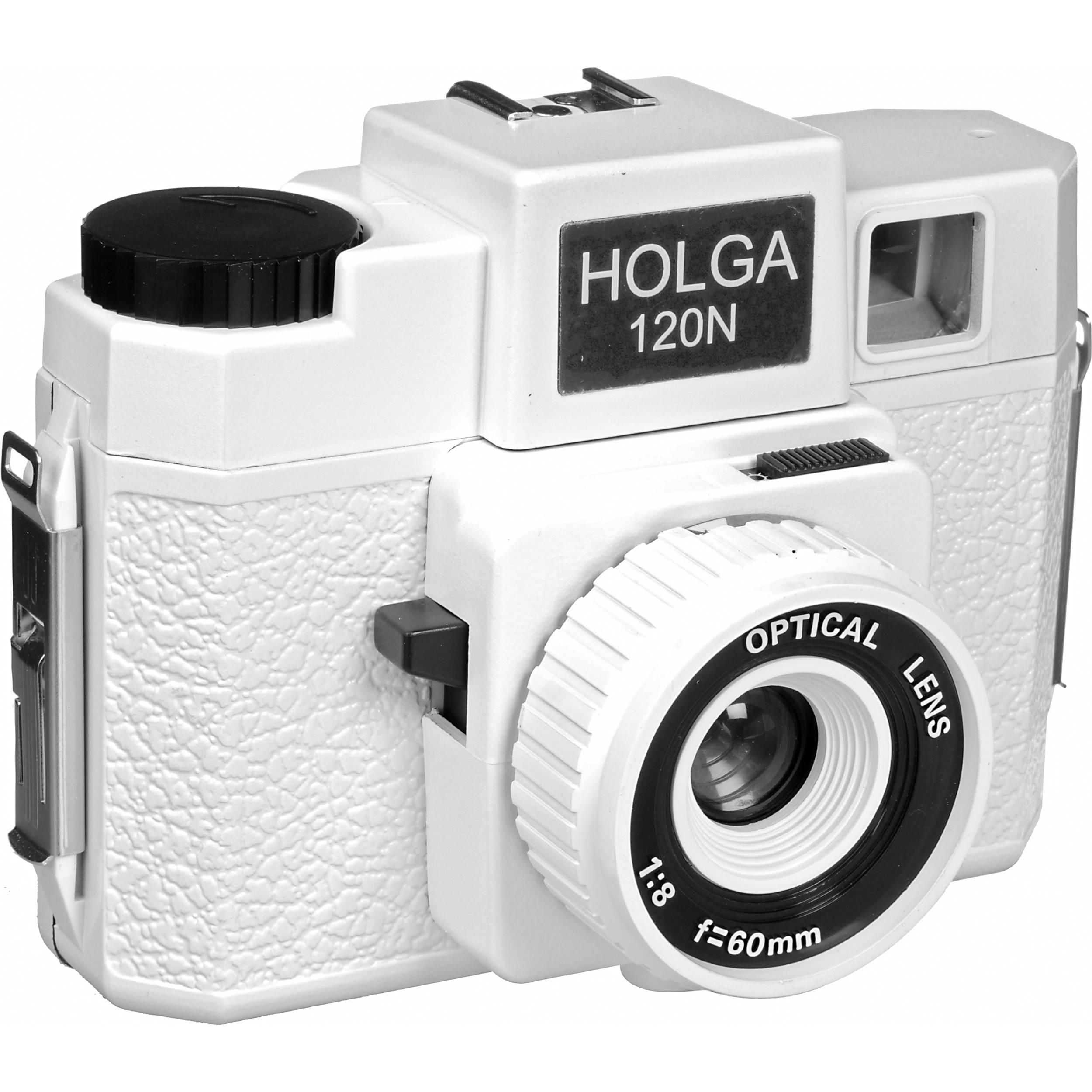 Holga 173-120 Holgawood 120N Medium Format Camera 173120 B&H