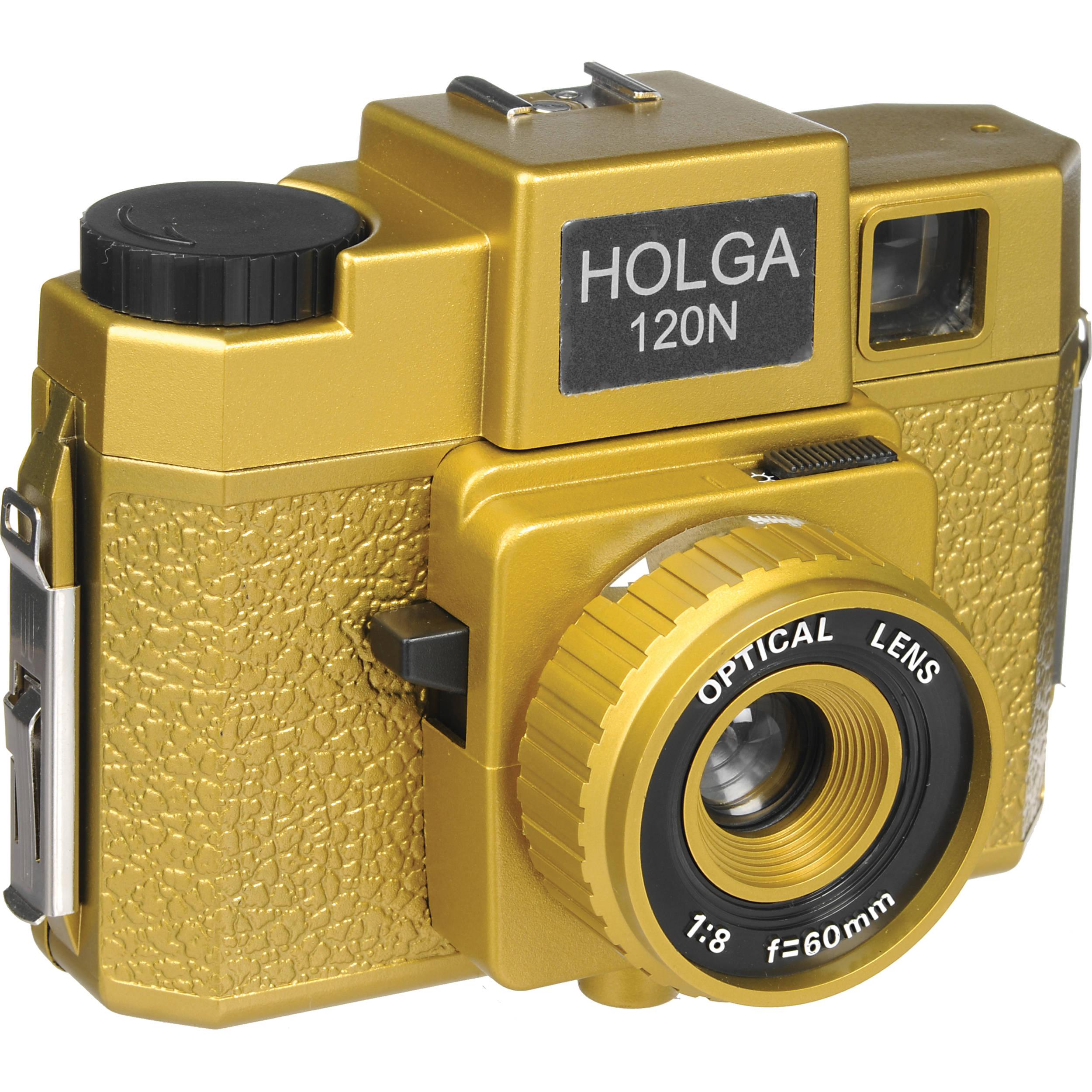 Holga 180-120 Holgawood 120N Medium Format Camera (Oscar)