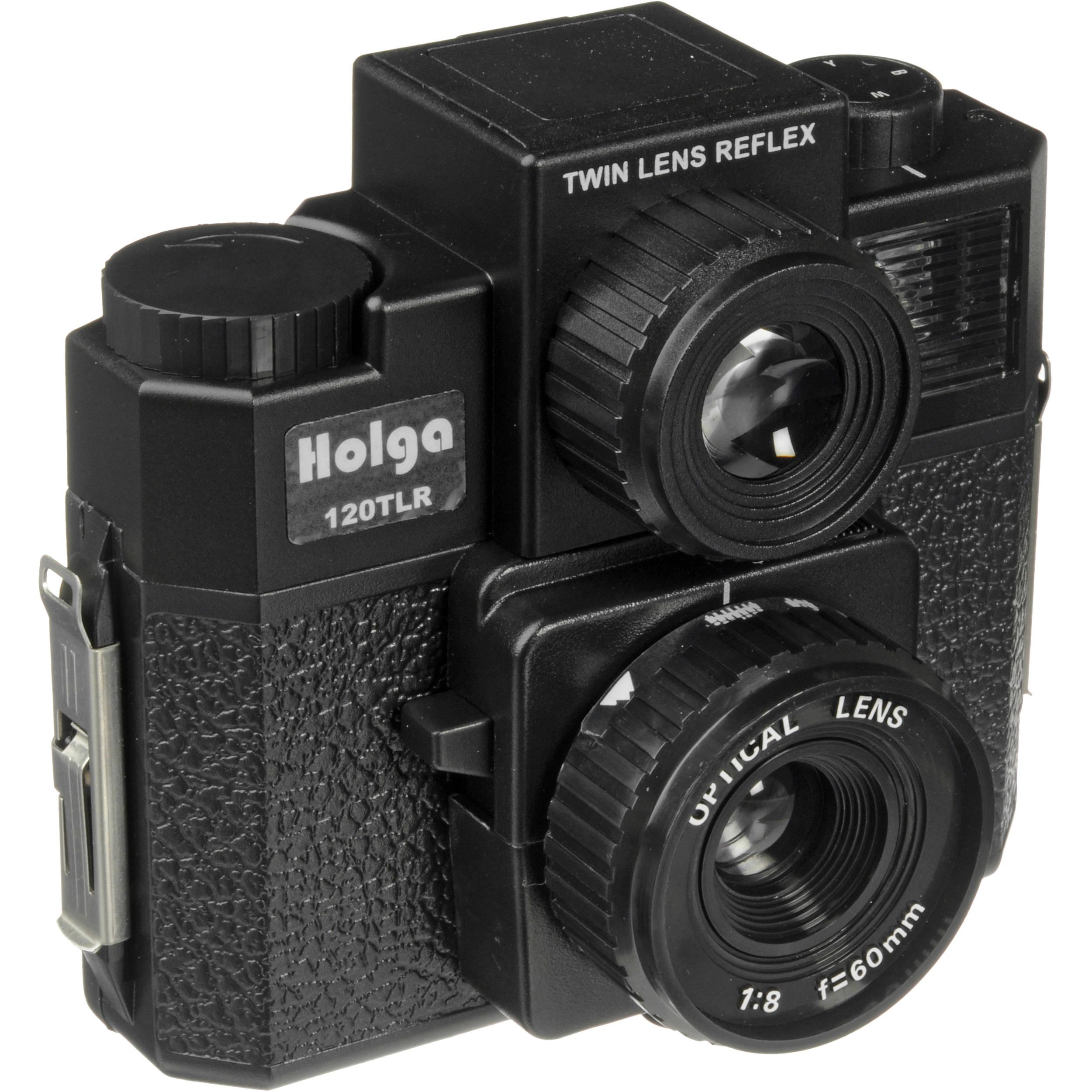 Holga 120 TLR Medium Format Plastic Camera (Black) 240120 B&H