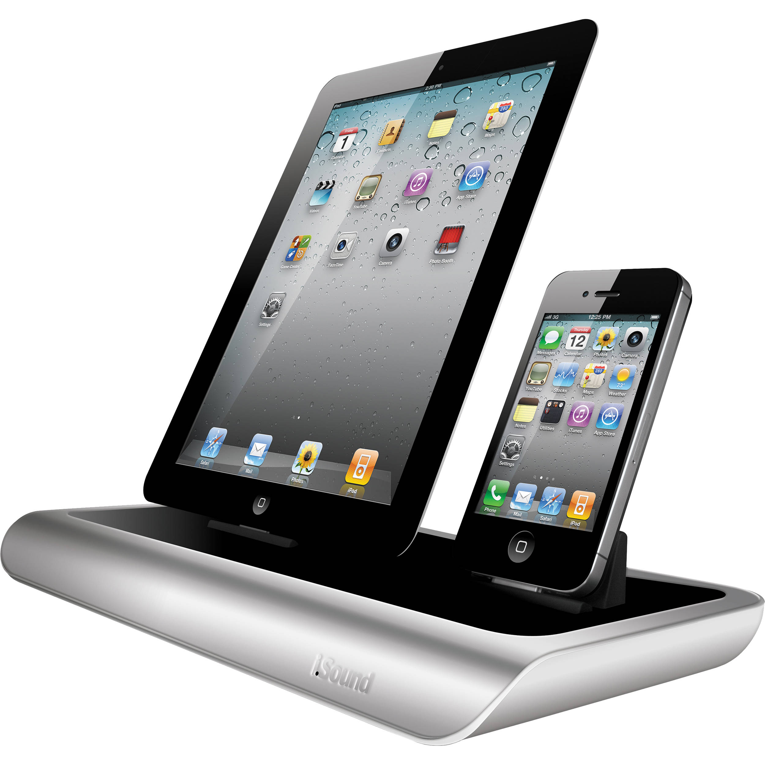 i sound power view pro s charging dock for ipad isound 4592 b h. Black Bedroom Furniture Sets. Home Design Ideas