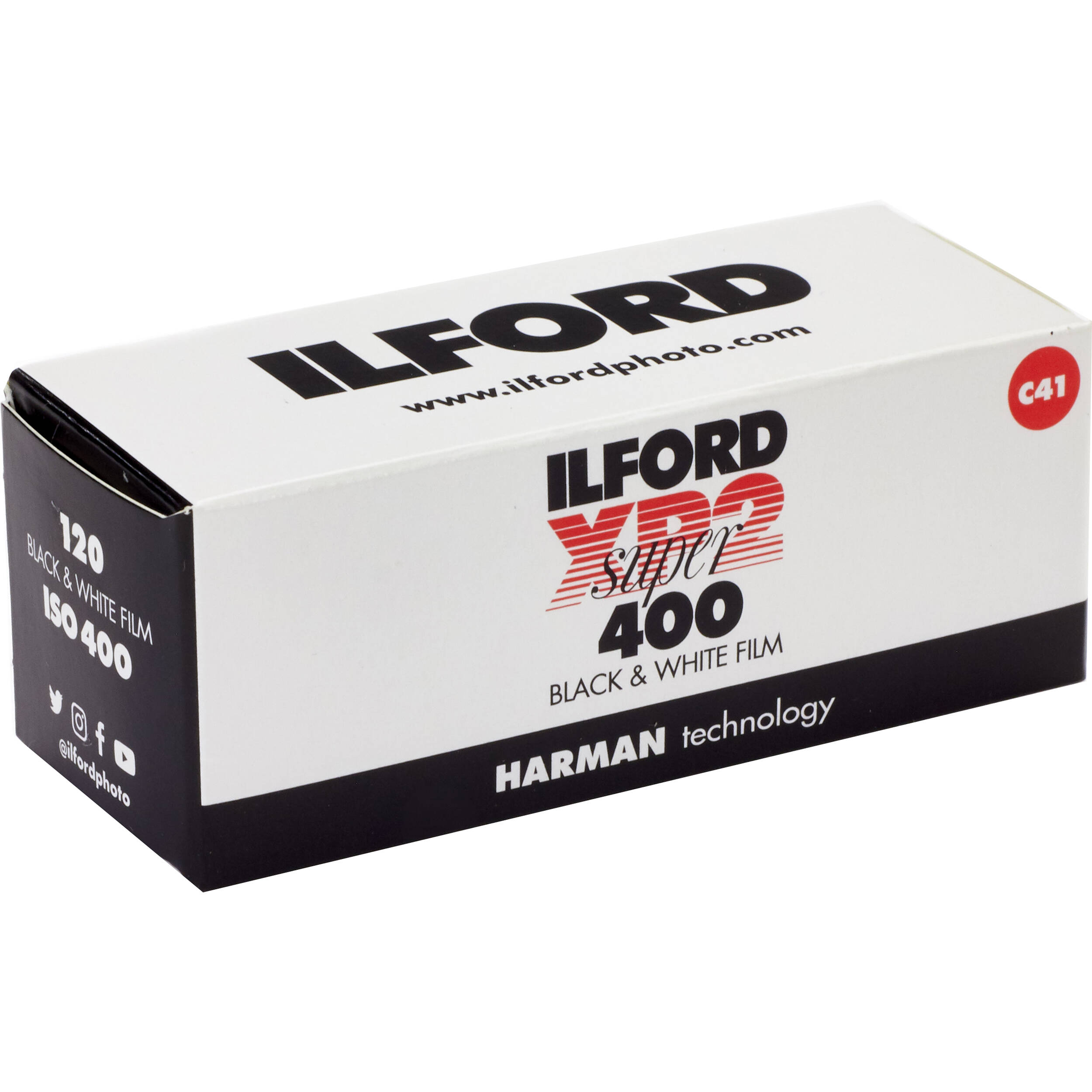 Ilford xp2 super black and white negative film 1839649 b h for Aufstellpool 400 x 120