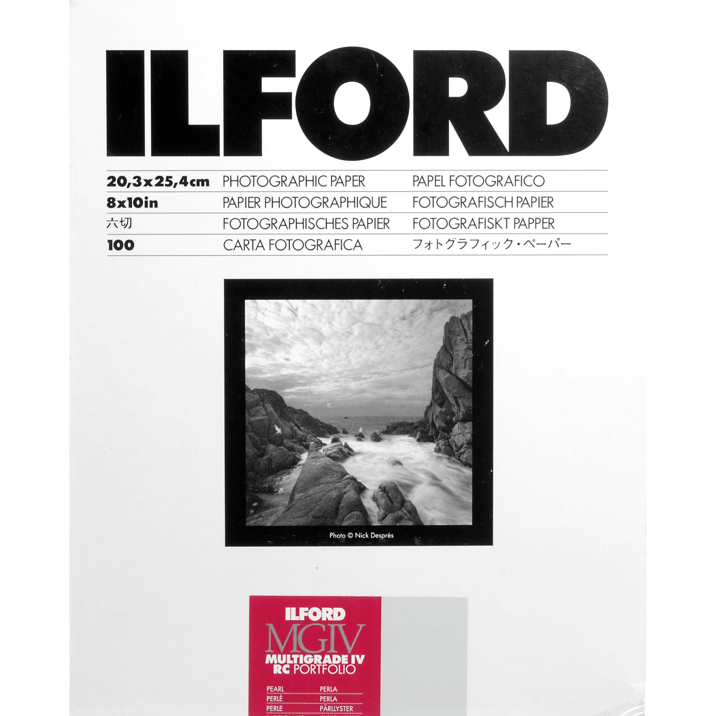 What is Ilford Pearl Paper? for photo developing.?