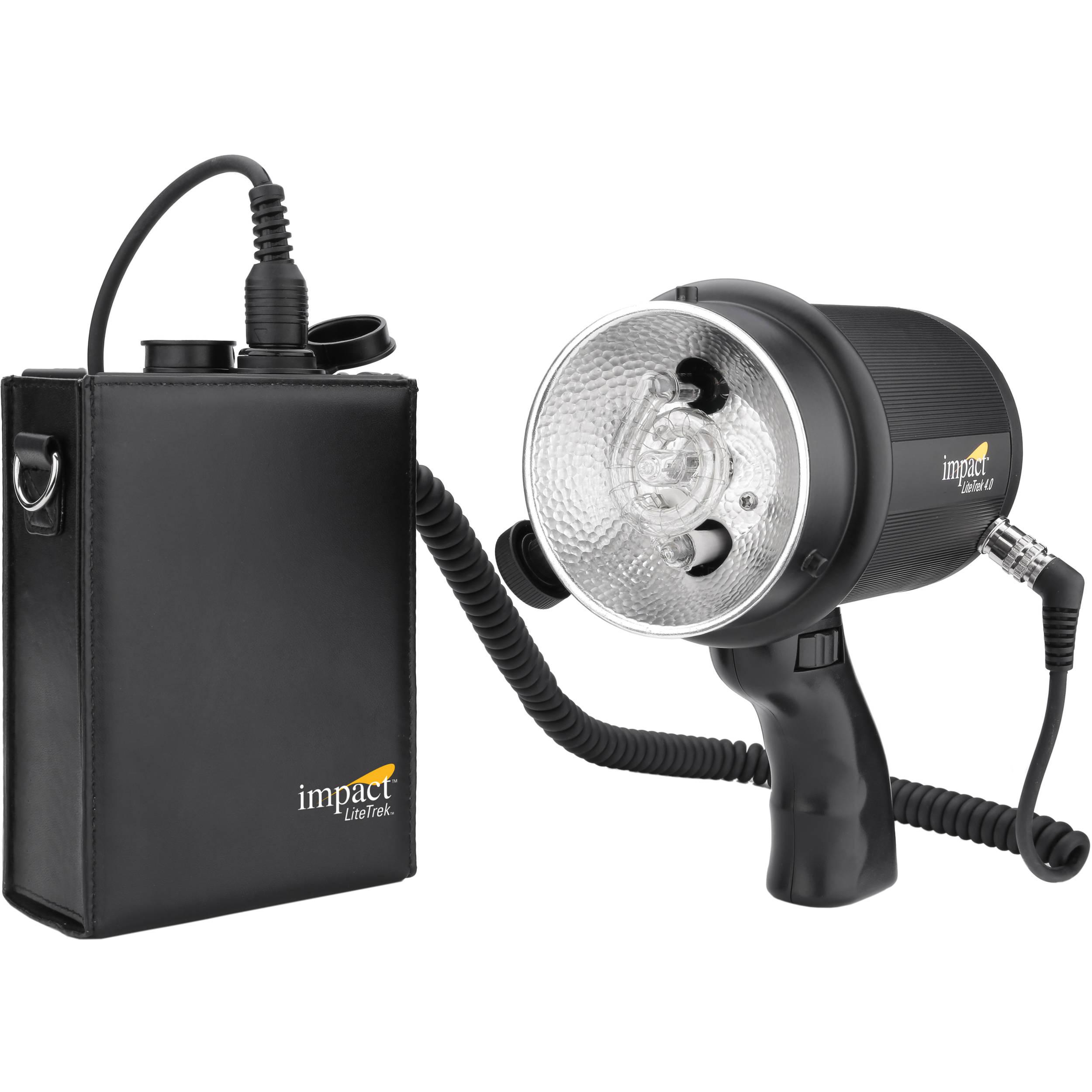 impact litetrek 4 0 dc monolight and mini litetrek lt 10052520