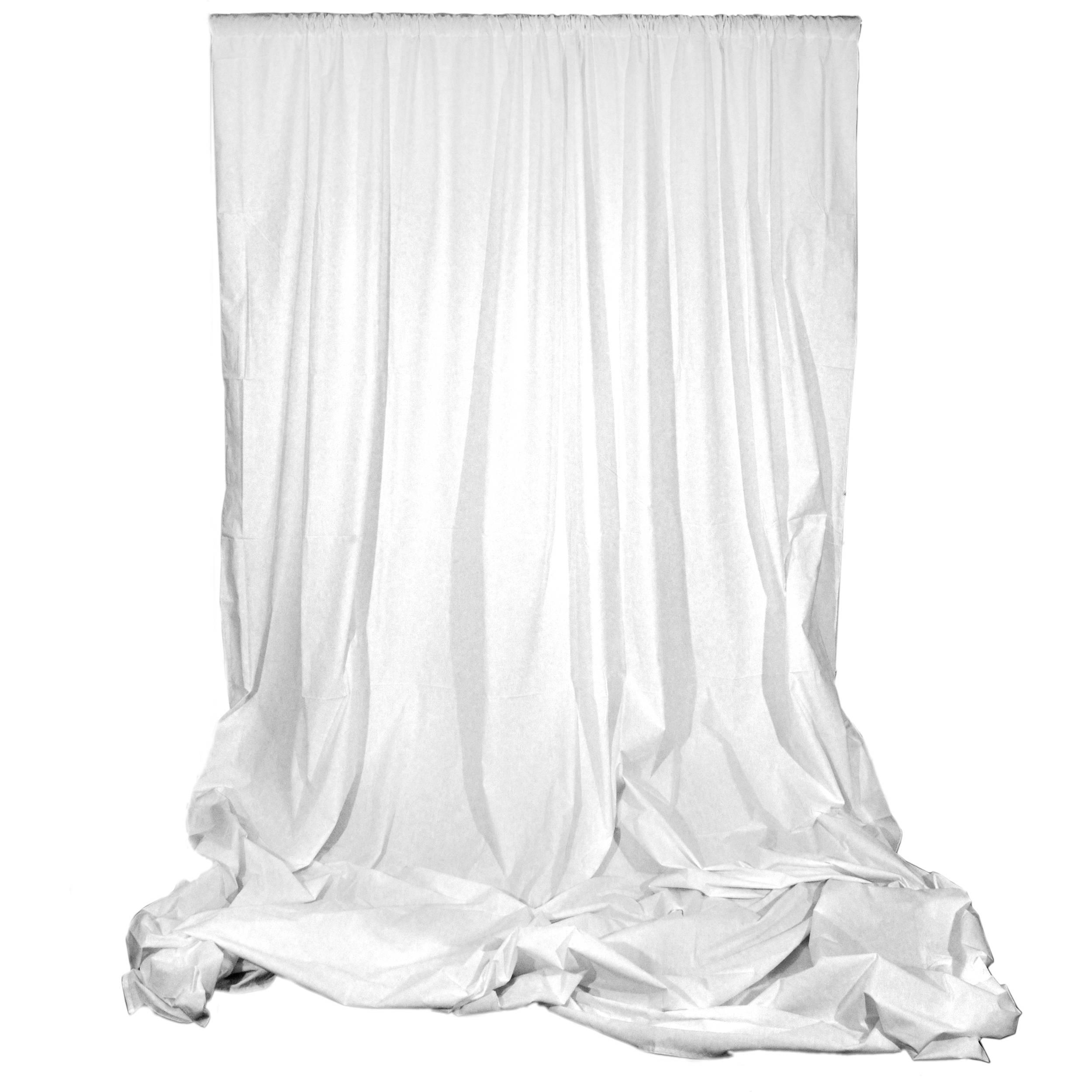White Bed Sheet Backdrop