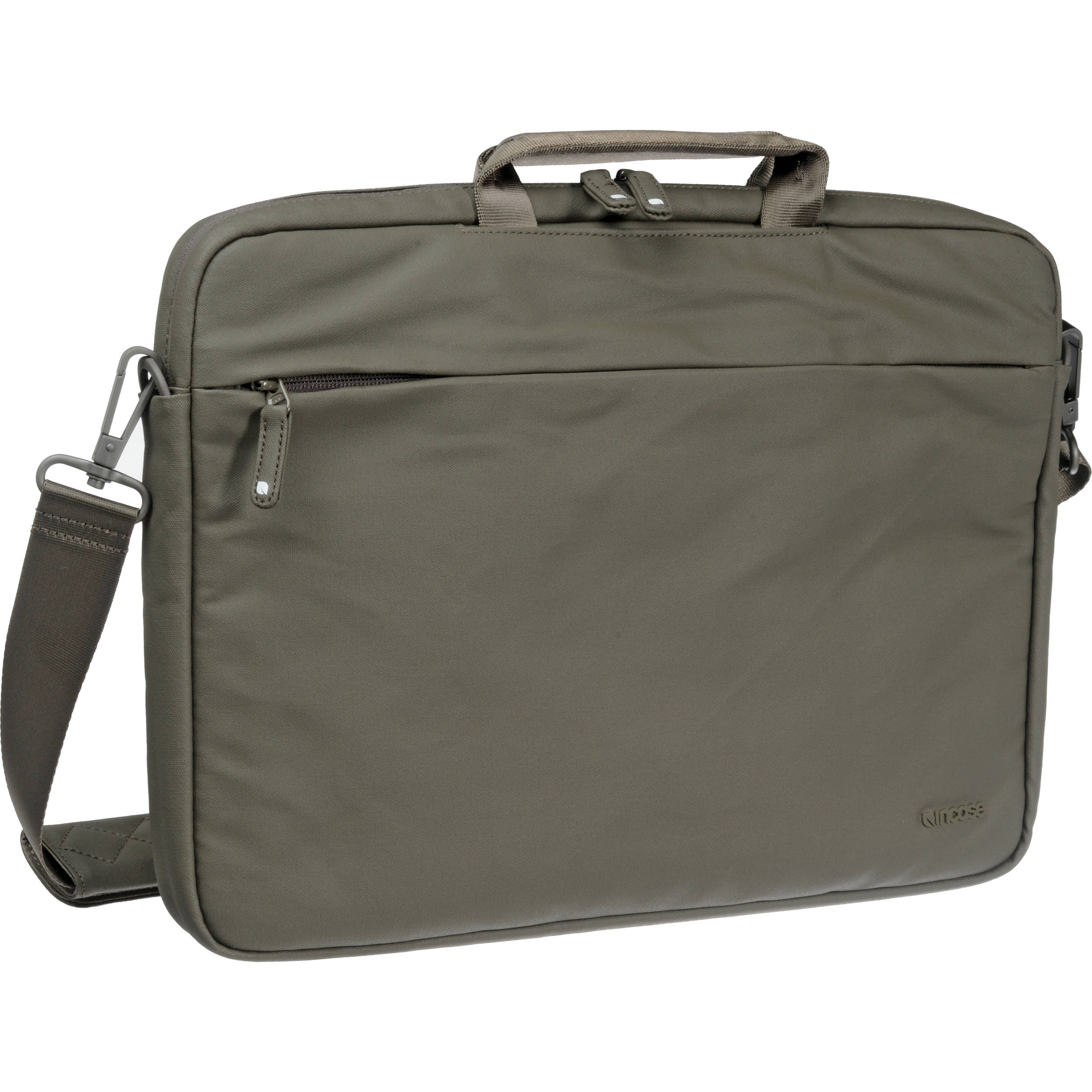 Incase Coated Canvas Shoulder Bag In Taupe 42