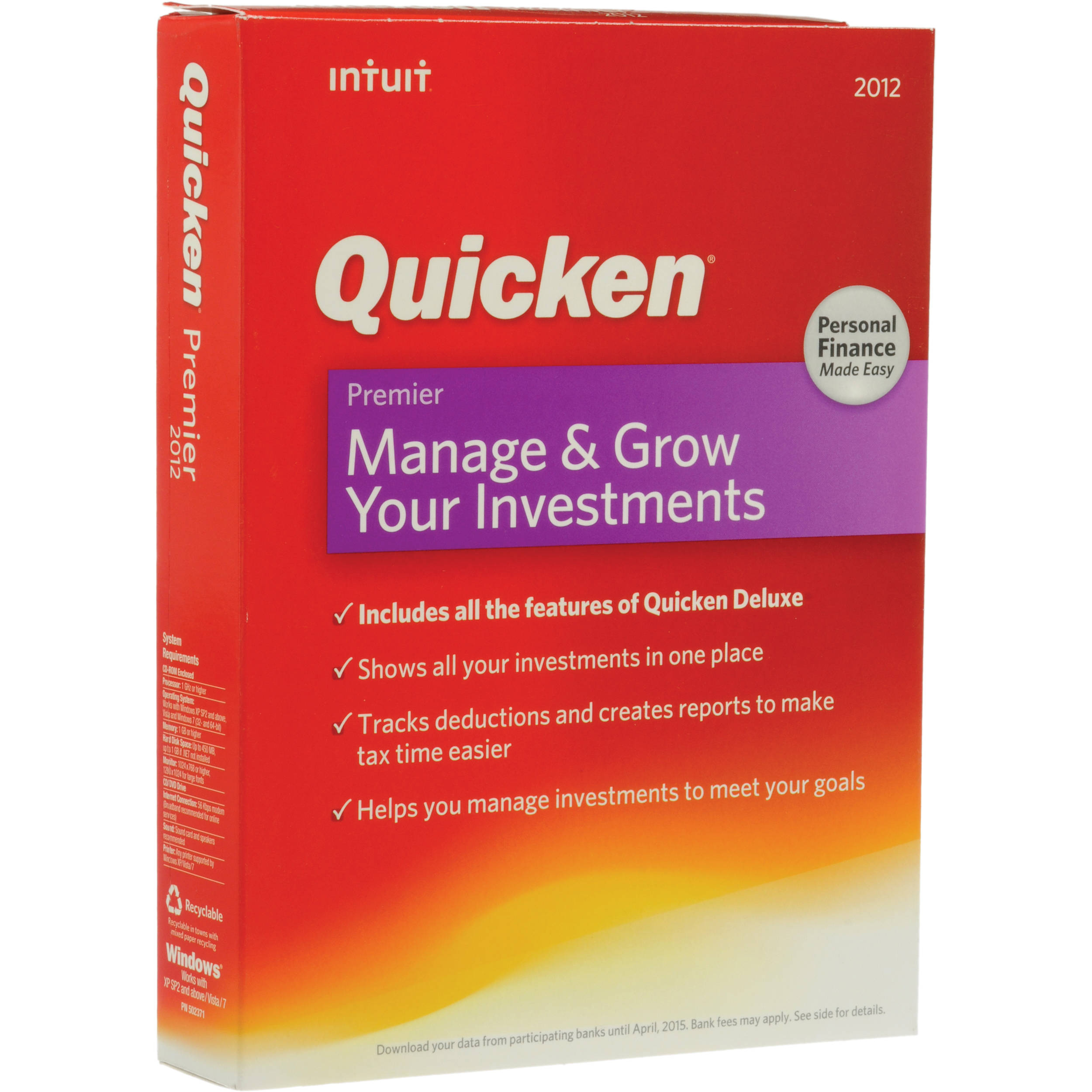 quicken premier 2013 free download