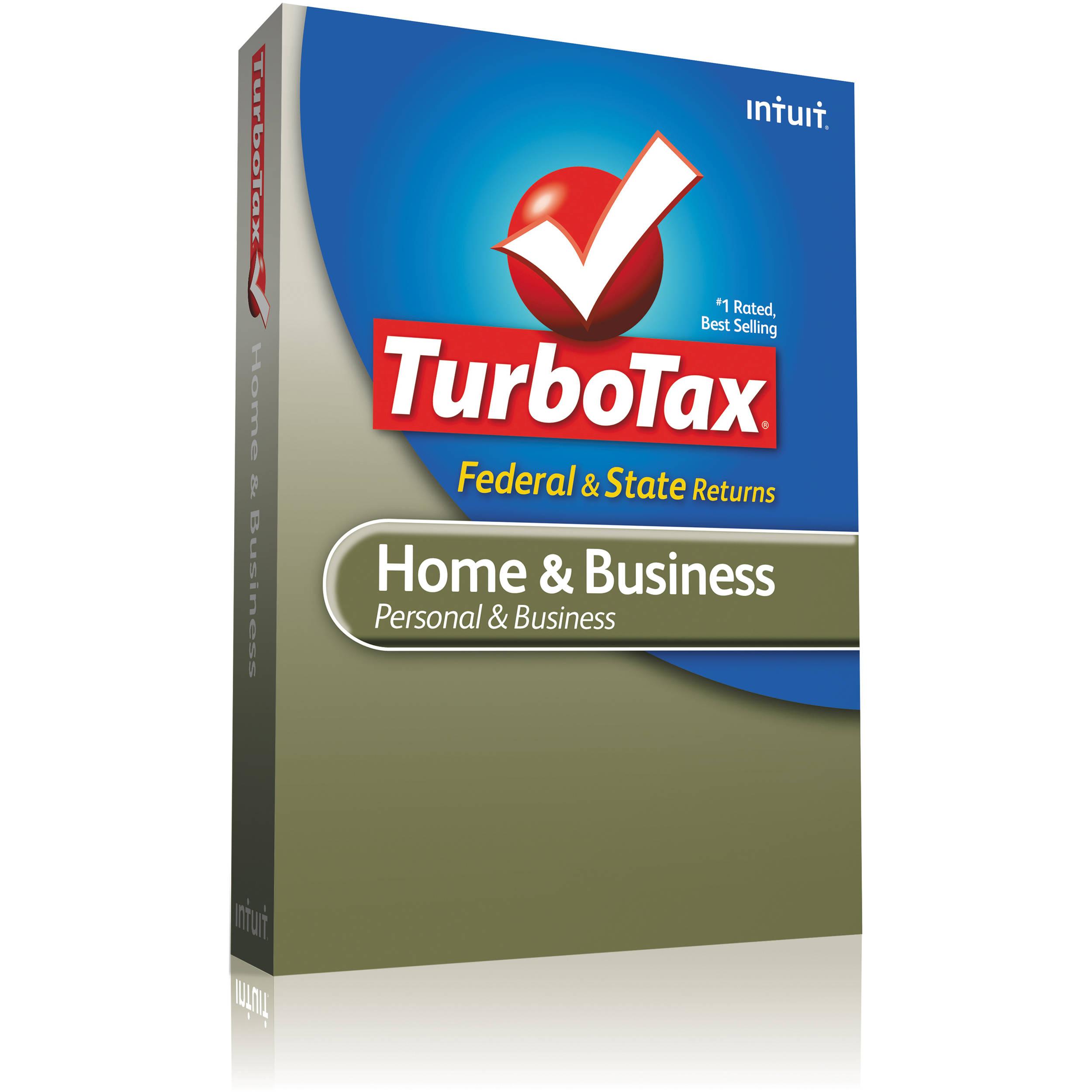 Intuit TurboTax Home & Business Plus E-File 2012 420458 B&H