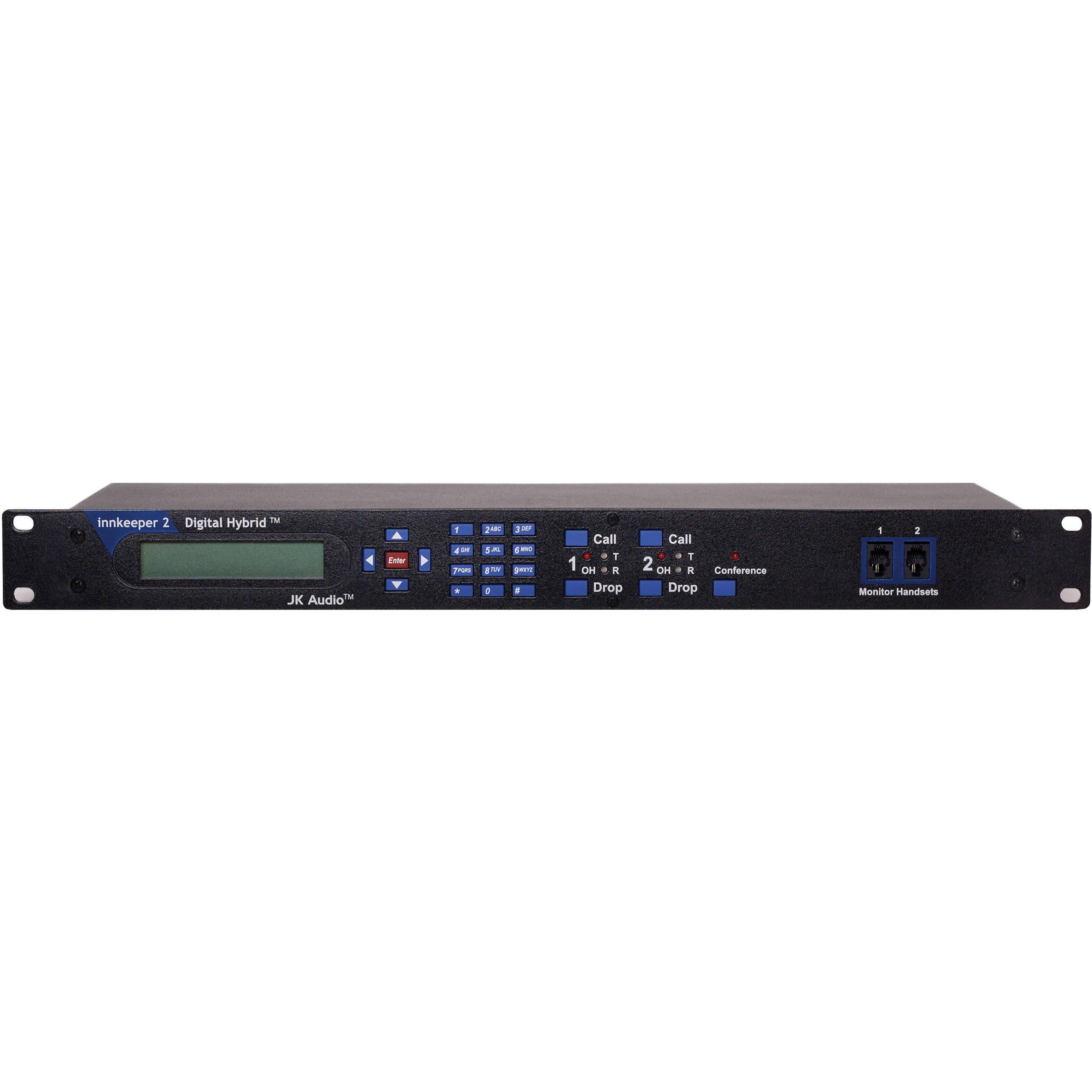 Jk Audio Innkeeper 2 Digital Hybrid Inn2 Bh Photo Video Telephone Circuit