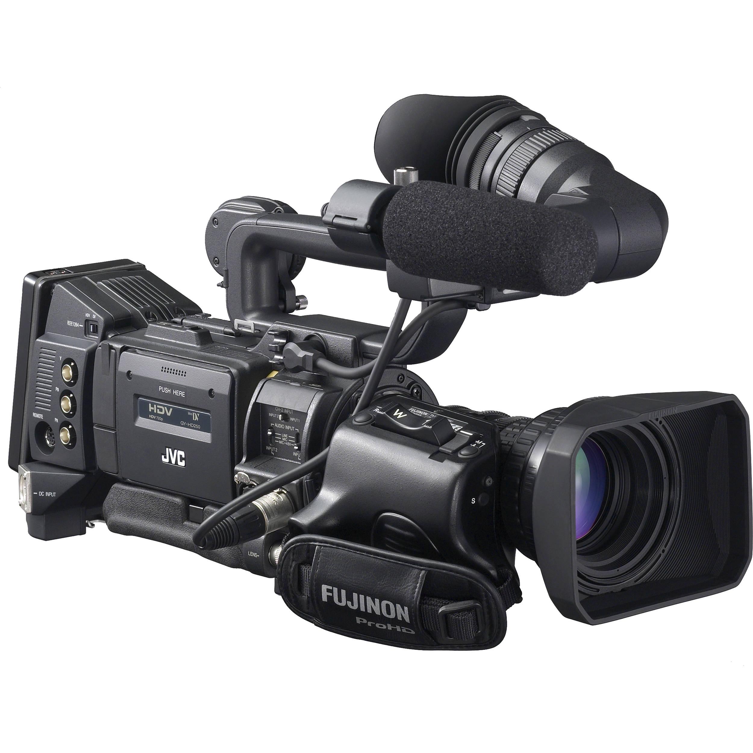 jvc gy hd200ub professional hdv camcorder gy hd200ub b h photo rh bhphotovideo com Broadcast Camera JVC JVC Camcorder DVD