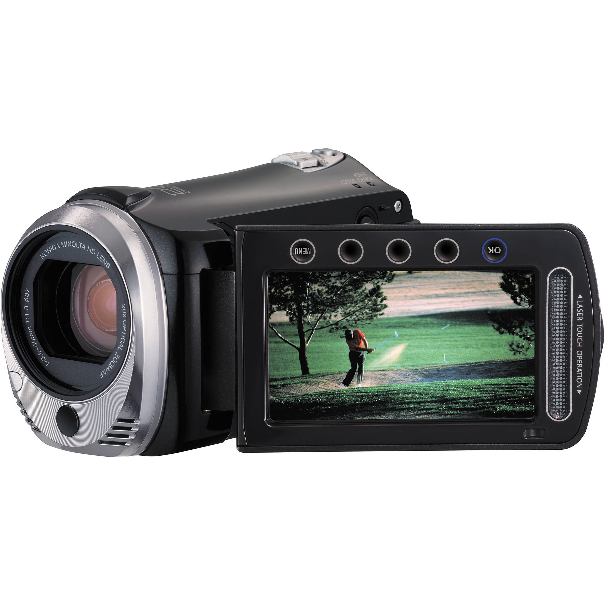 JVC GZ-HM320 HD Everio Flash Memory Camera