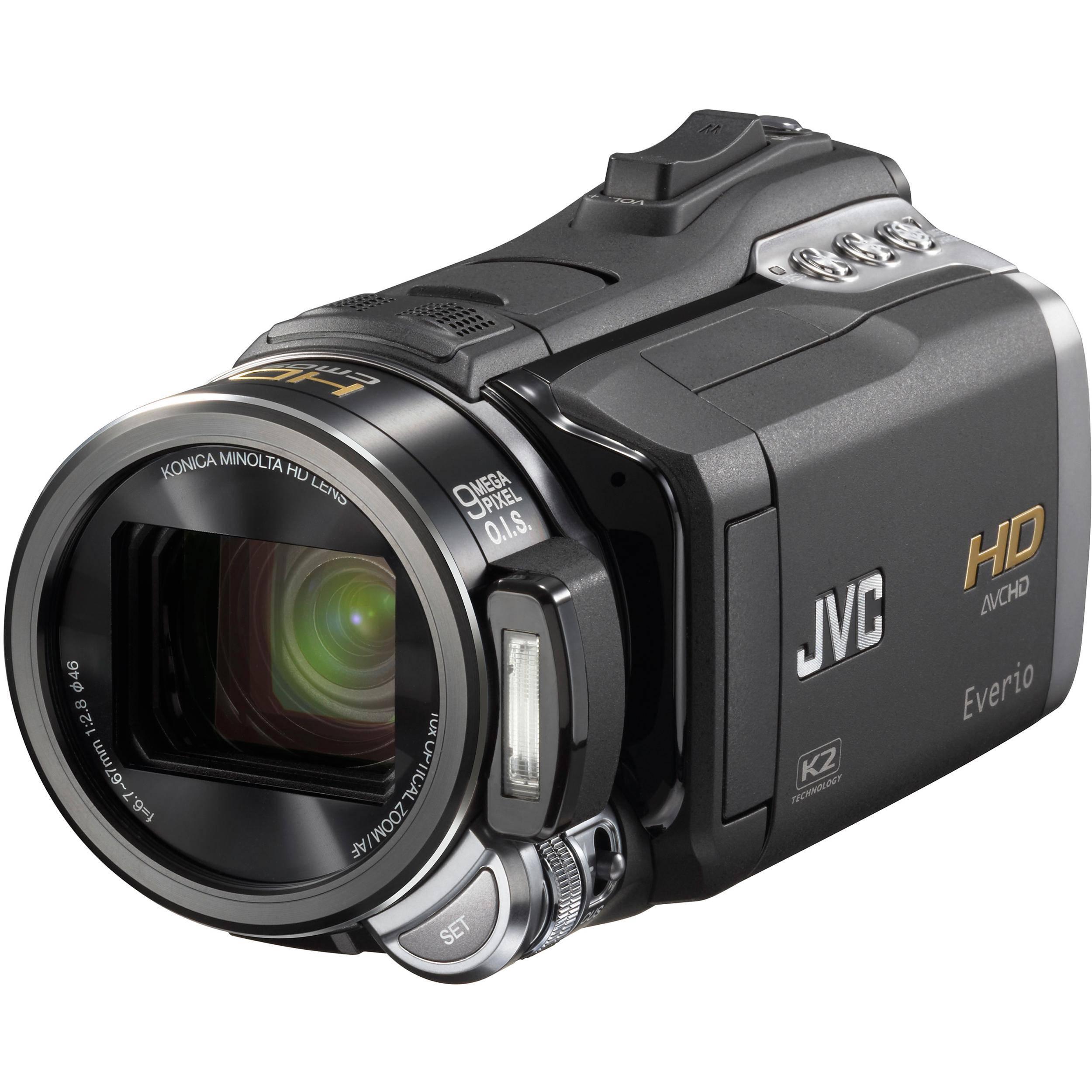 JVC GZ-HM400 HD Everio Memory Camera Camcorder