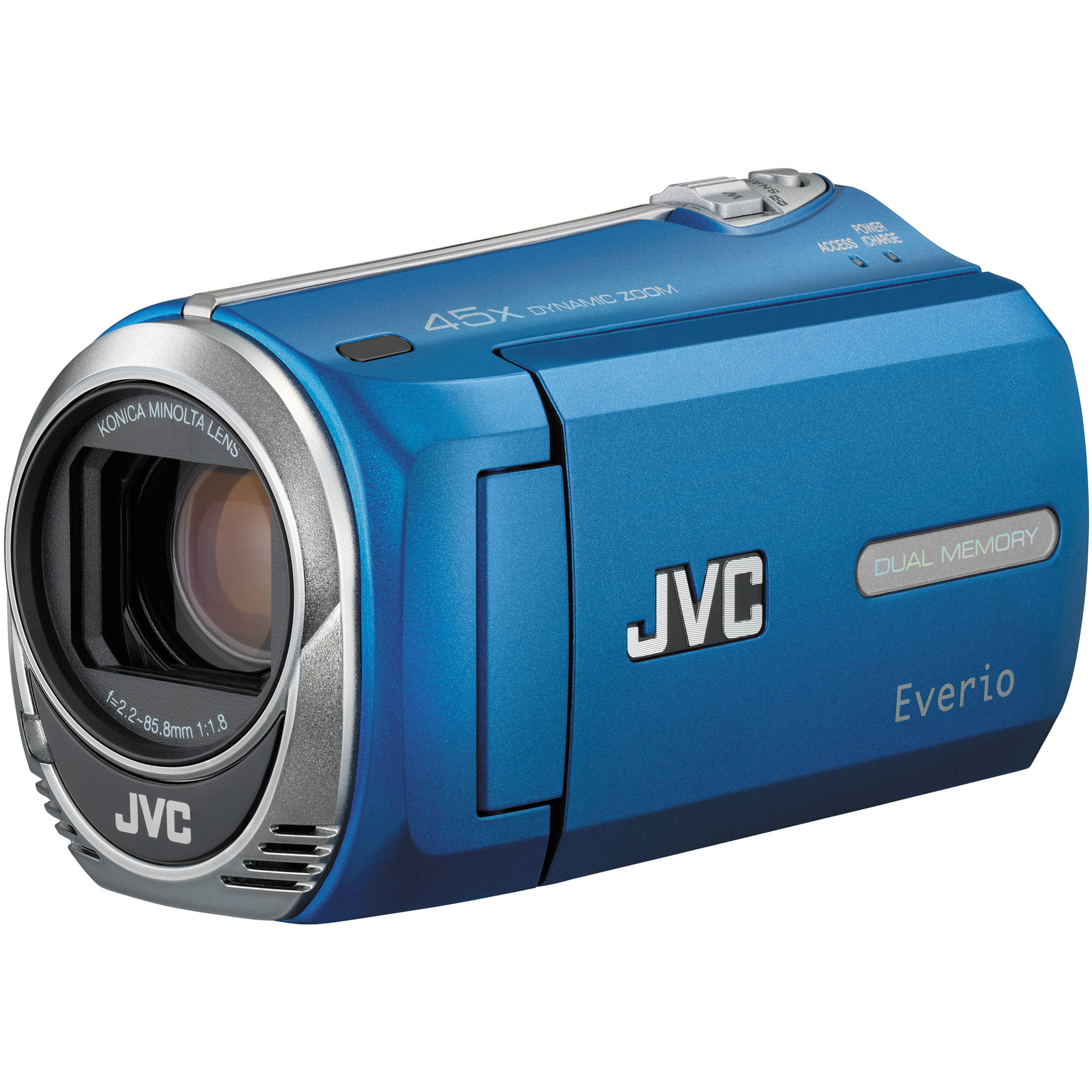 jvc gz ms230 everio s pal flash memory camera blue gzms230ae rh bhphotovideo com jvc everio 45x dynamic zoom manual filmadora jvc everio 45x manual