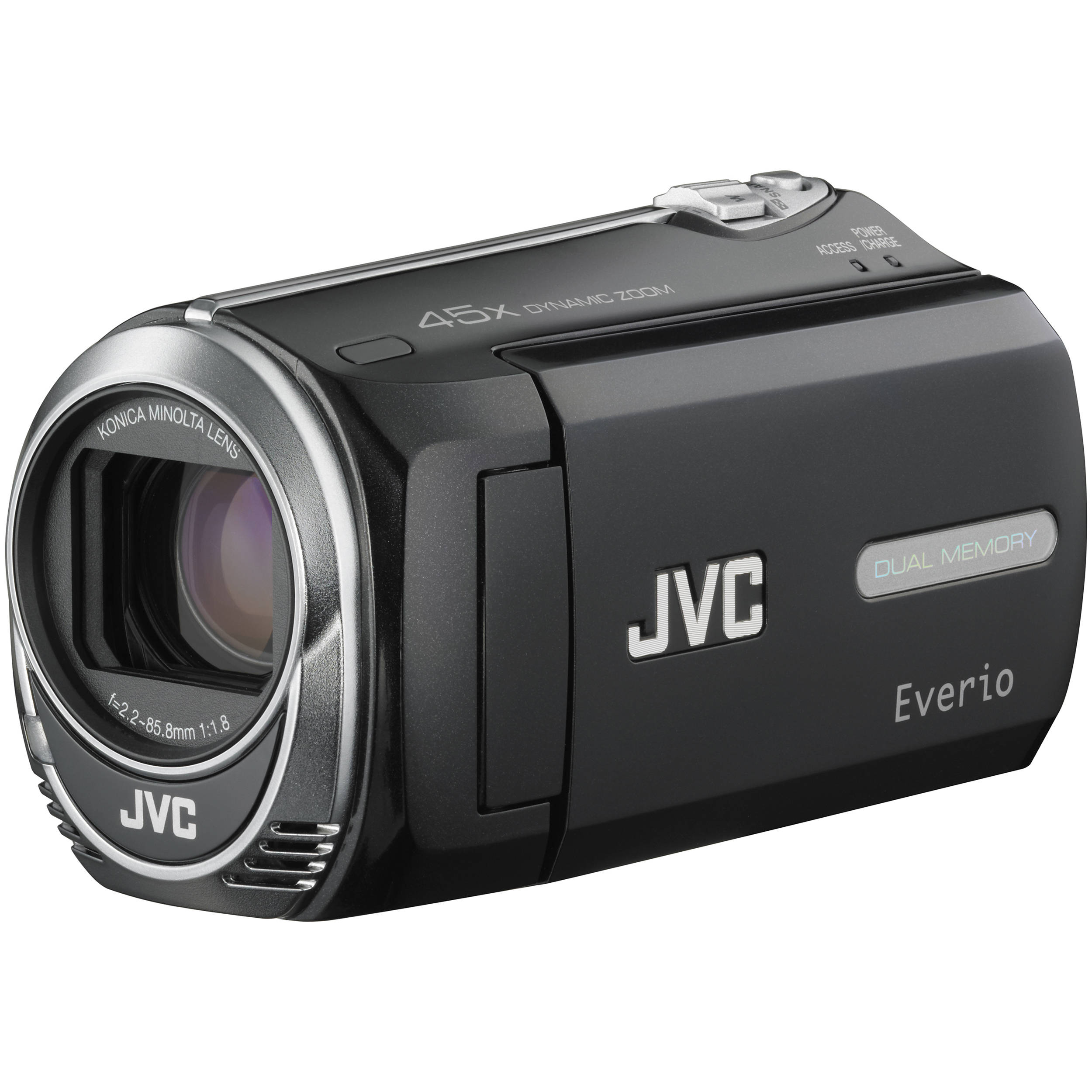jvc gz ms250 everio s flash memory camera gzms250bus b h photo rh bhphotovideo com jvc everio 45x dynamic zoom manual JVC Everio Camcorder Manual