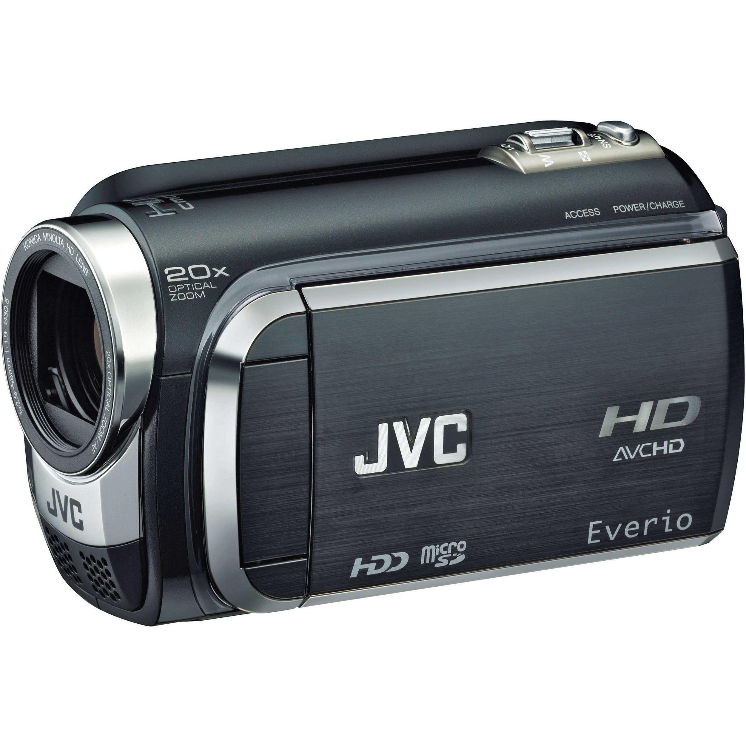 JVC GZ-HD320 Everio High Definition Hard Disk GZ-HD320B B&H