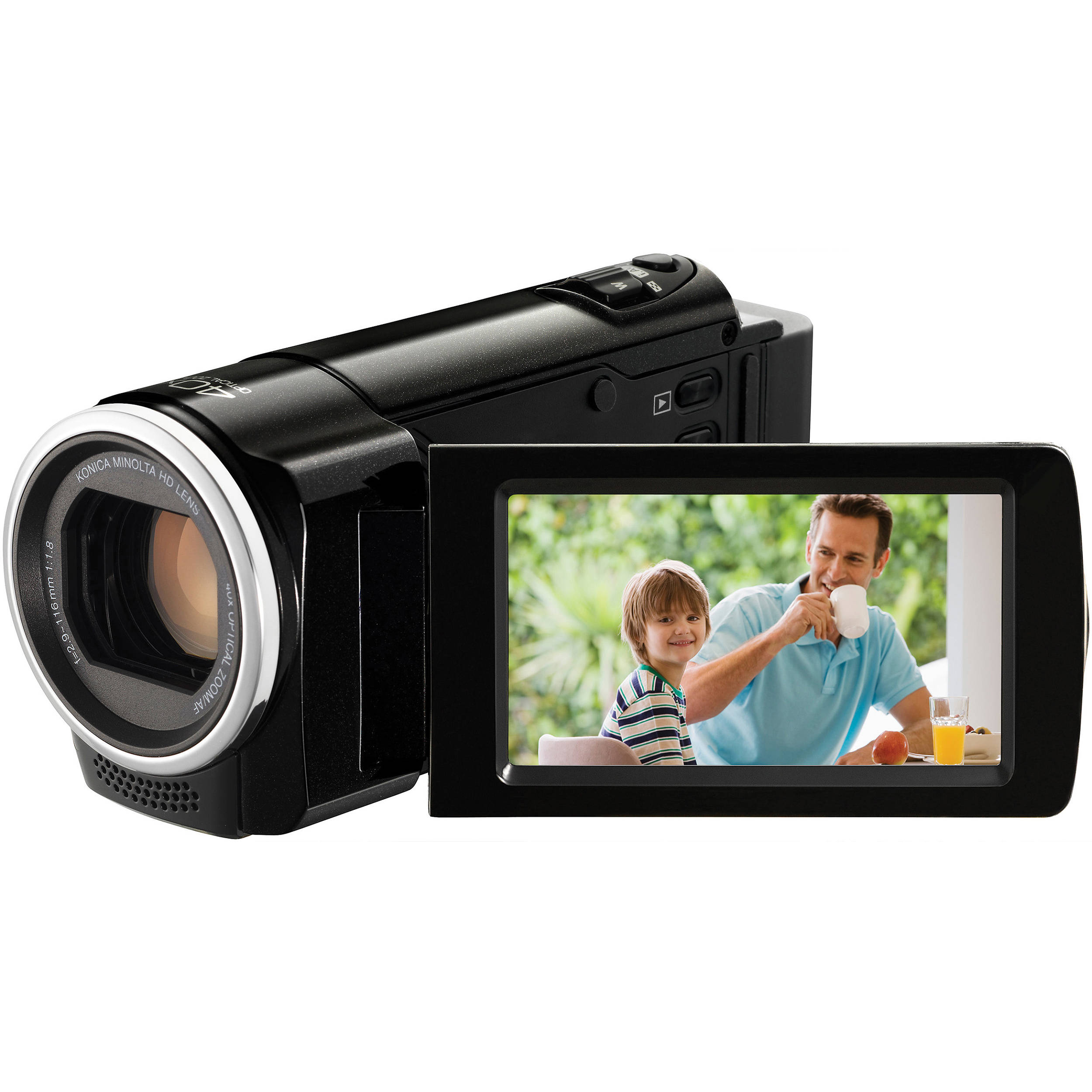 JVC GZ-HM30 HD Everio Camcorder (Black)