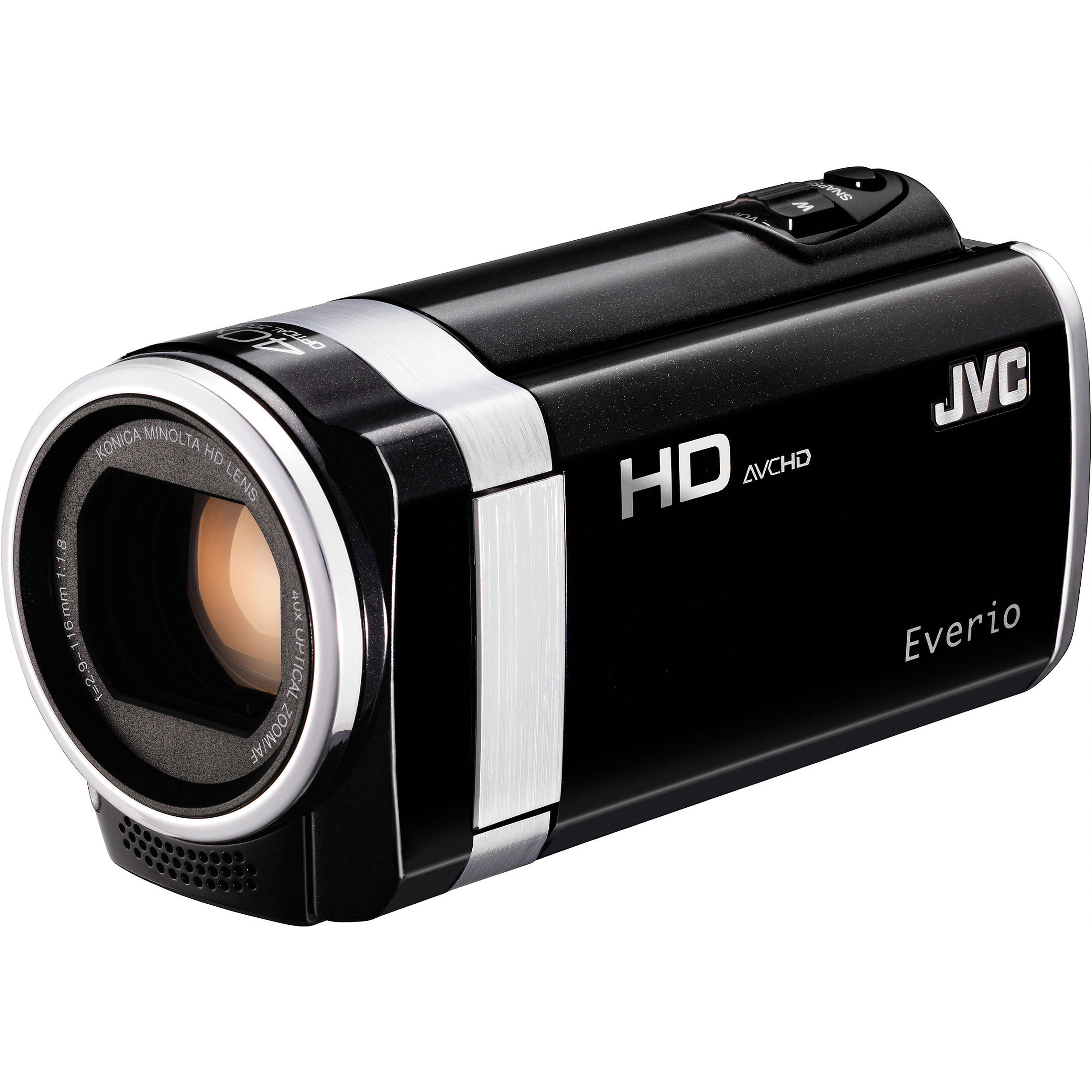 JVC GZ-HM670 HD Everio Camcorder GZ-HM670BUSM B\u0026H Photo Video