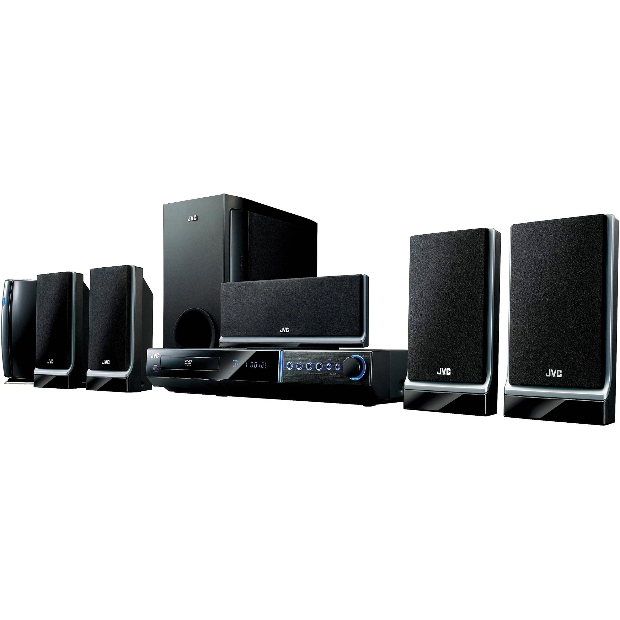 Jvc Th G51 5 1 Channel Home Cinema System Thg51 B Amp H Photo