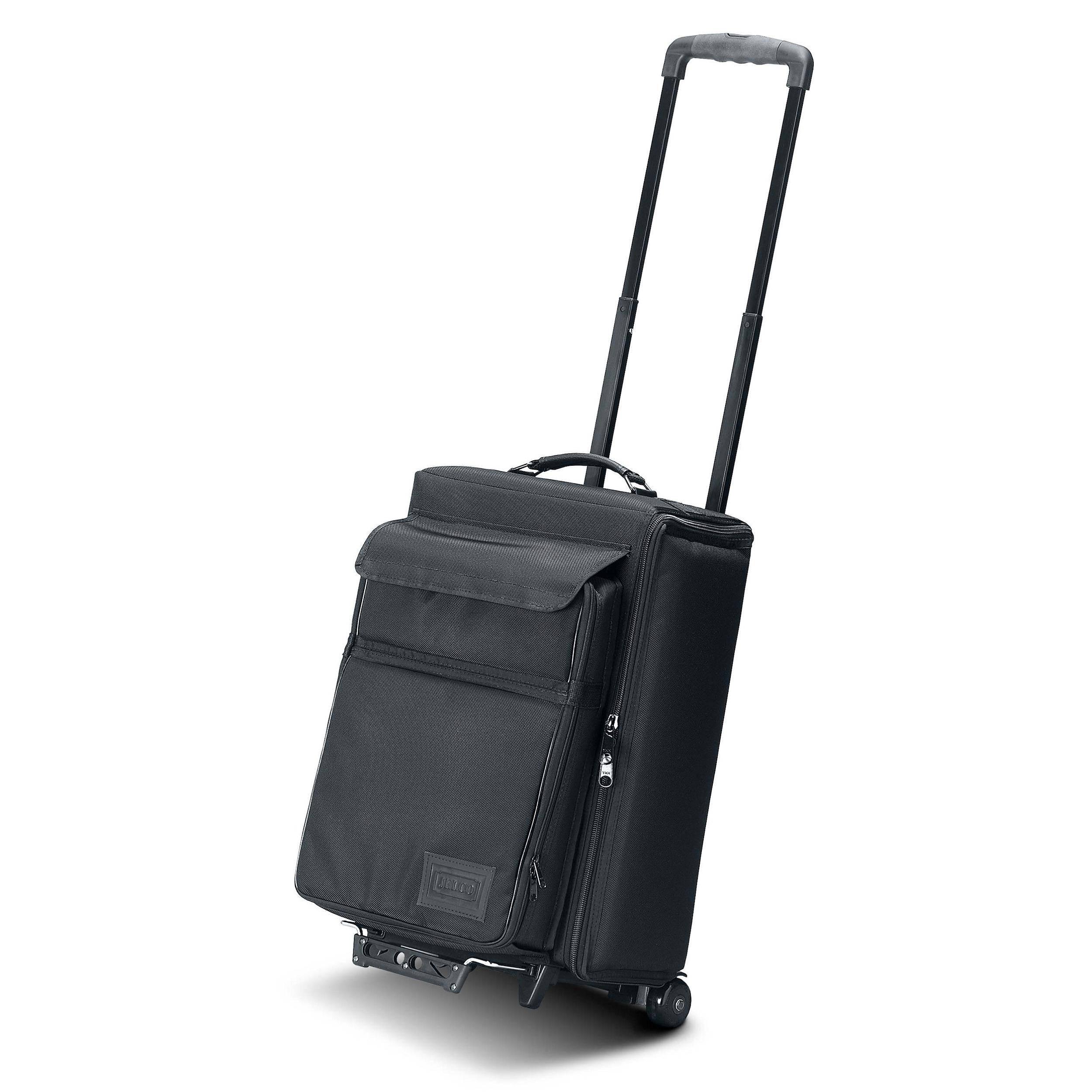 jelco jel 1666 rp padded hard side travel case jel 1666rp b h. Black Bedroom Furniture Sets. Home Design Ideas