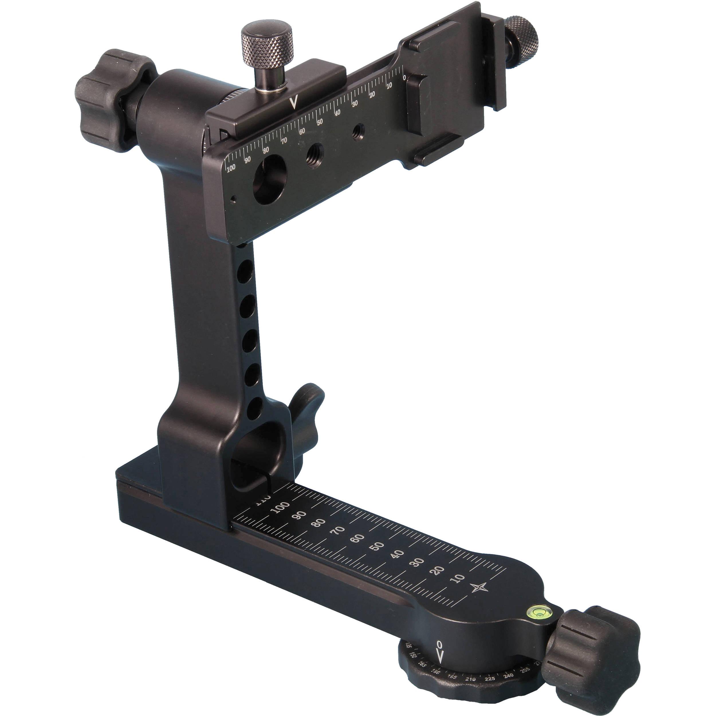 Light Stand Gimbal: Jobu Design Manfrotto-Compatible Panoramic Gimbal Head PGH-KM1