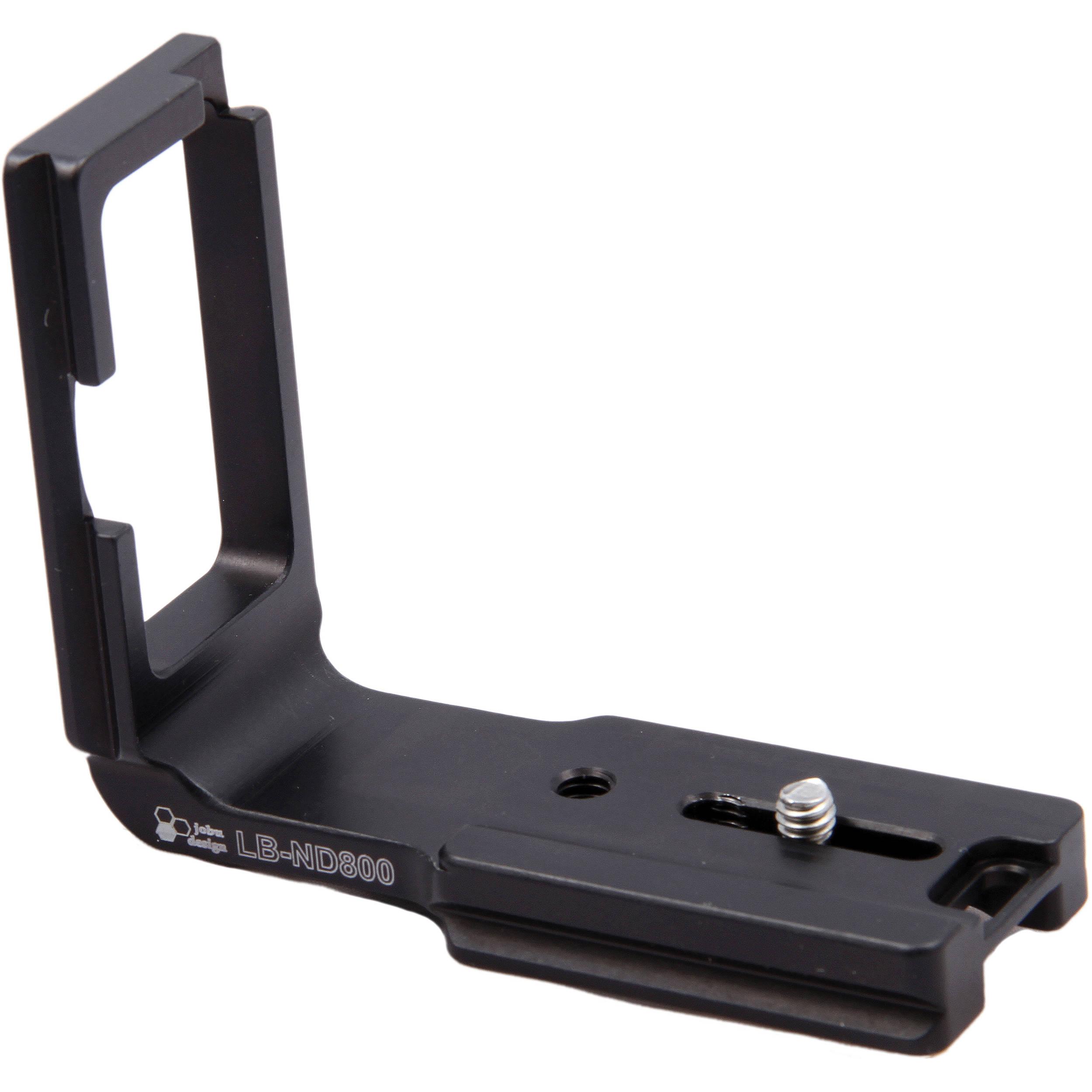 0f778aede12 Jobu Design L Bracket for Nikon D800 Without Battery LB-ND800
