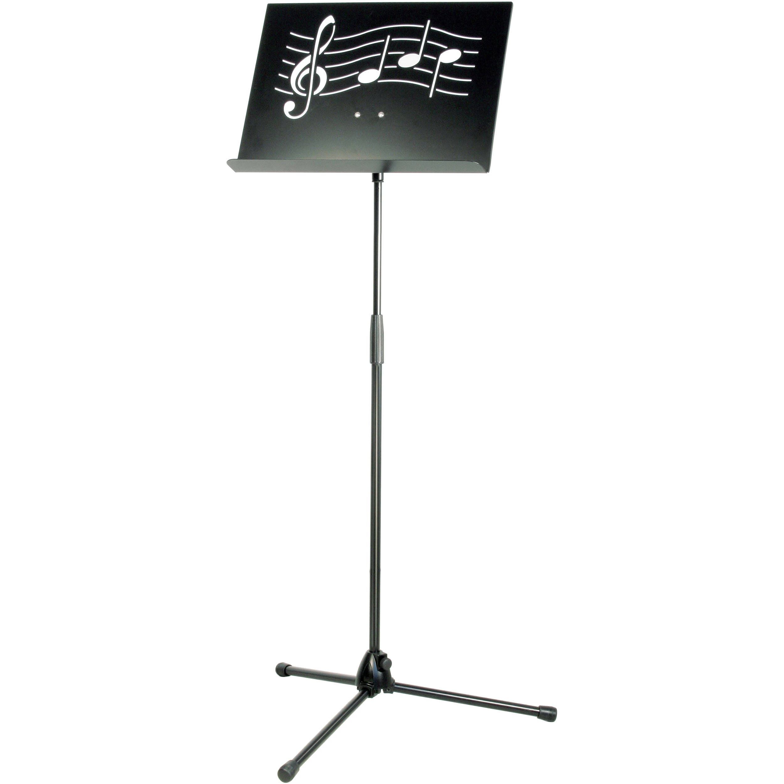 Km Symphony Black Music Stand With Steel Desk 11865 000 55 Bh