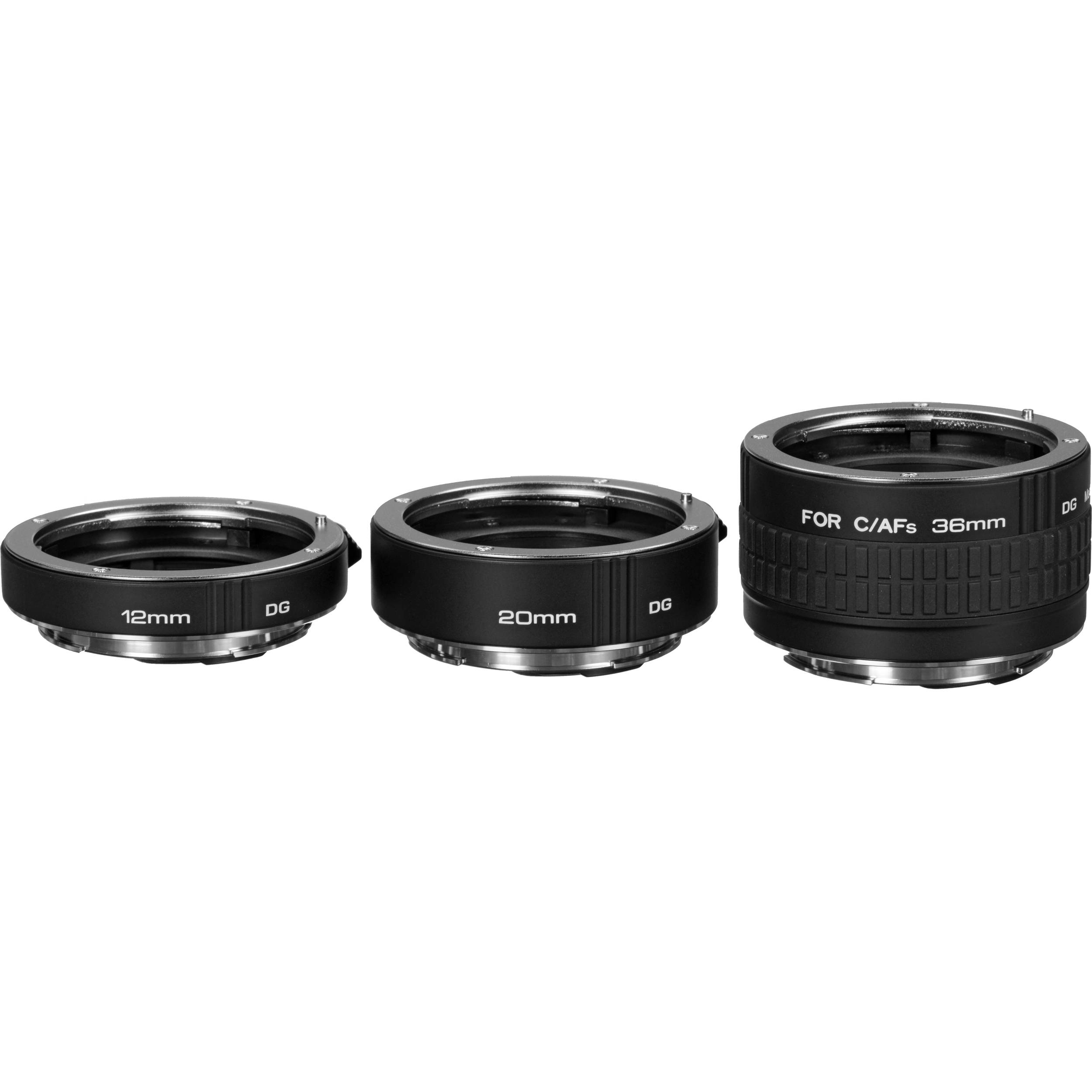 Kenko Auto Extension Tube Set Dg For Canon Eos A Extubedg C Bh 6d Kit 24 105mm F 40l Is Usm Wifi And Gps Lenses