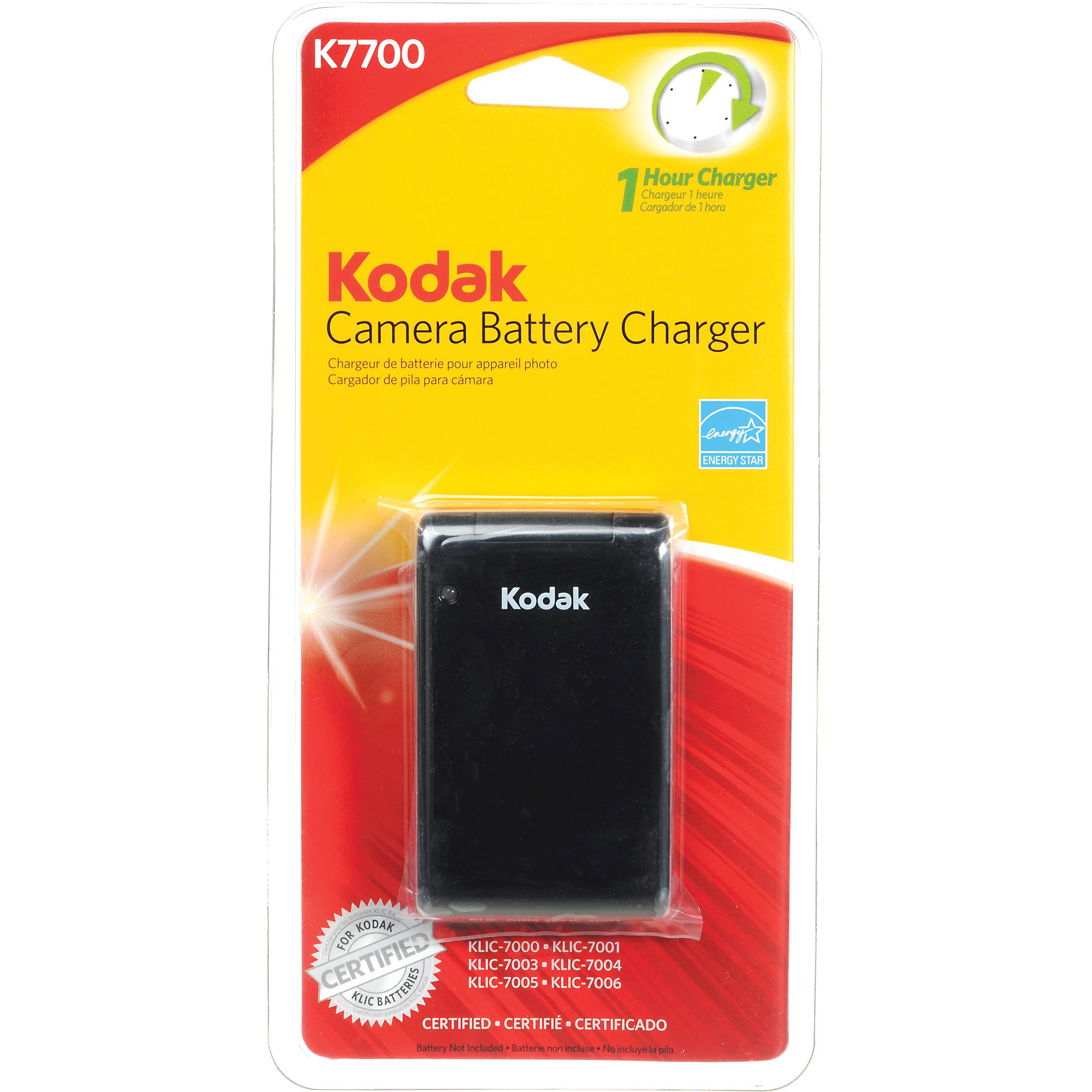 Kodak K7700 Digital Camera Battery Charger 1165448 B Amp H Photo