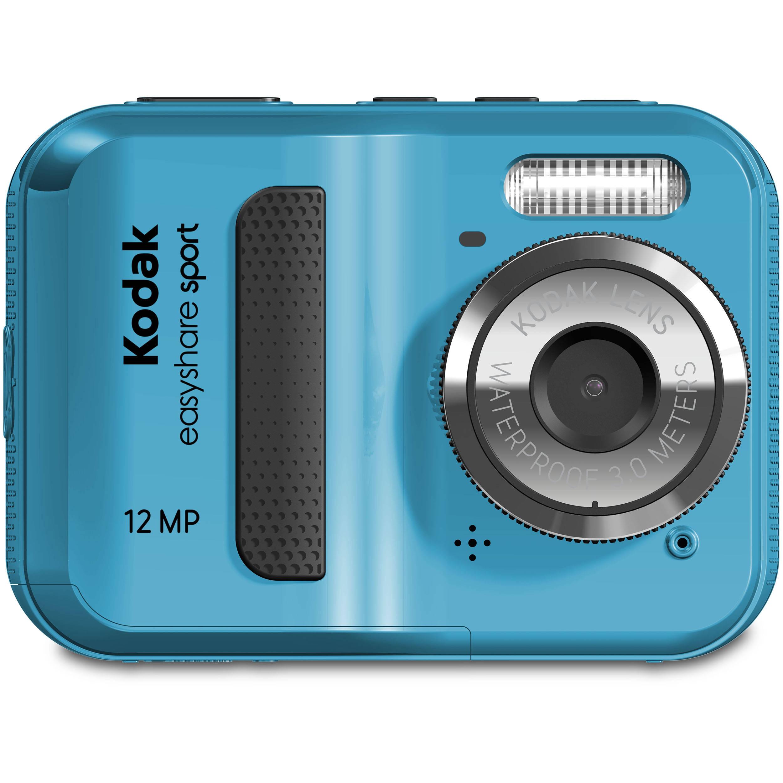 kodak easyshare sport c123 digital camera blue 1564194 b h rh bhphotovideo com Kodak EasyShare Sport Software Kodak EasyShare Camera