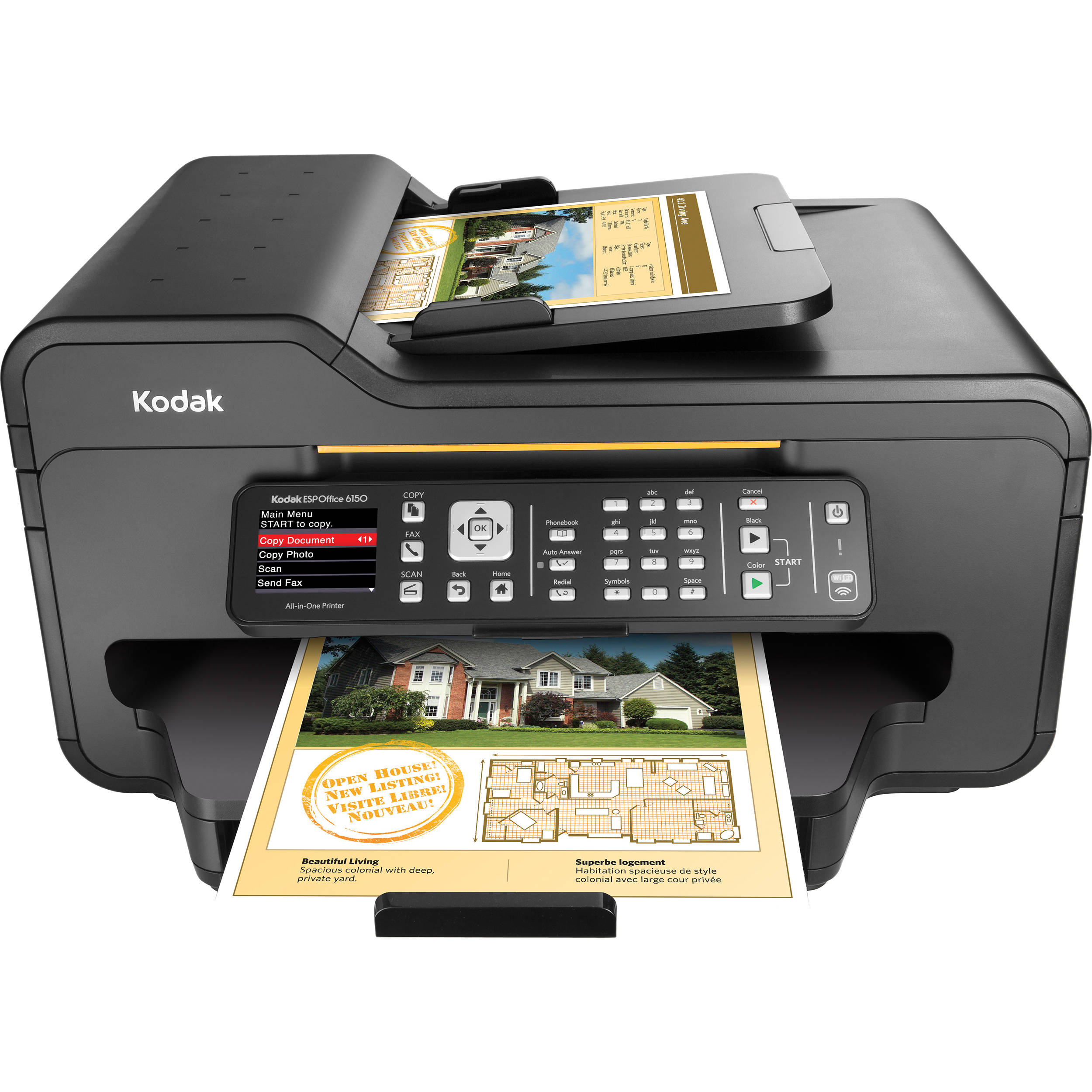 Kodak ESP Office 6150 All In One Printer
