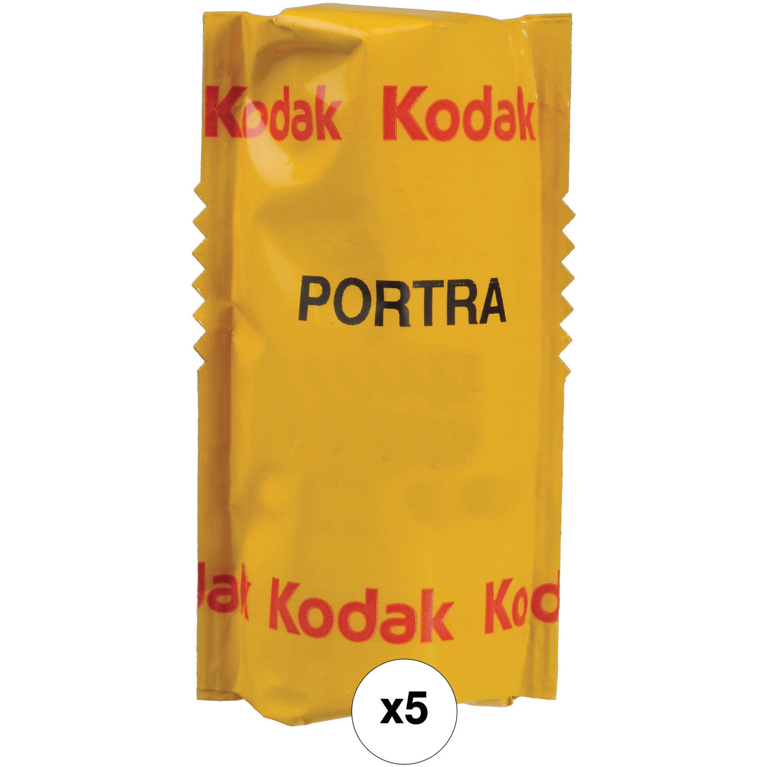 Kodak Professional Portra 160 Color Negative Film 120 Roll 5 Pack