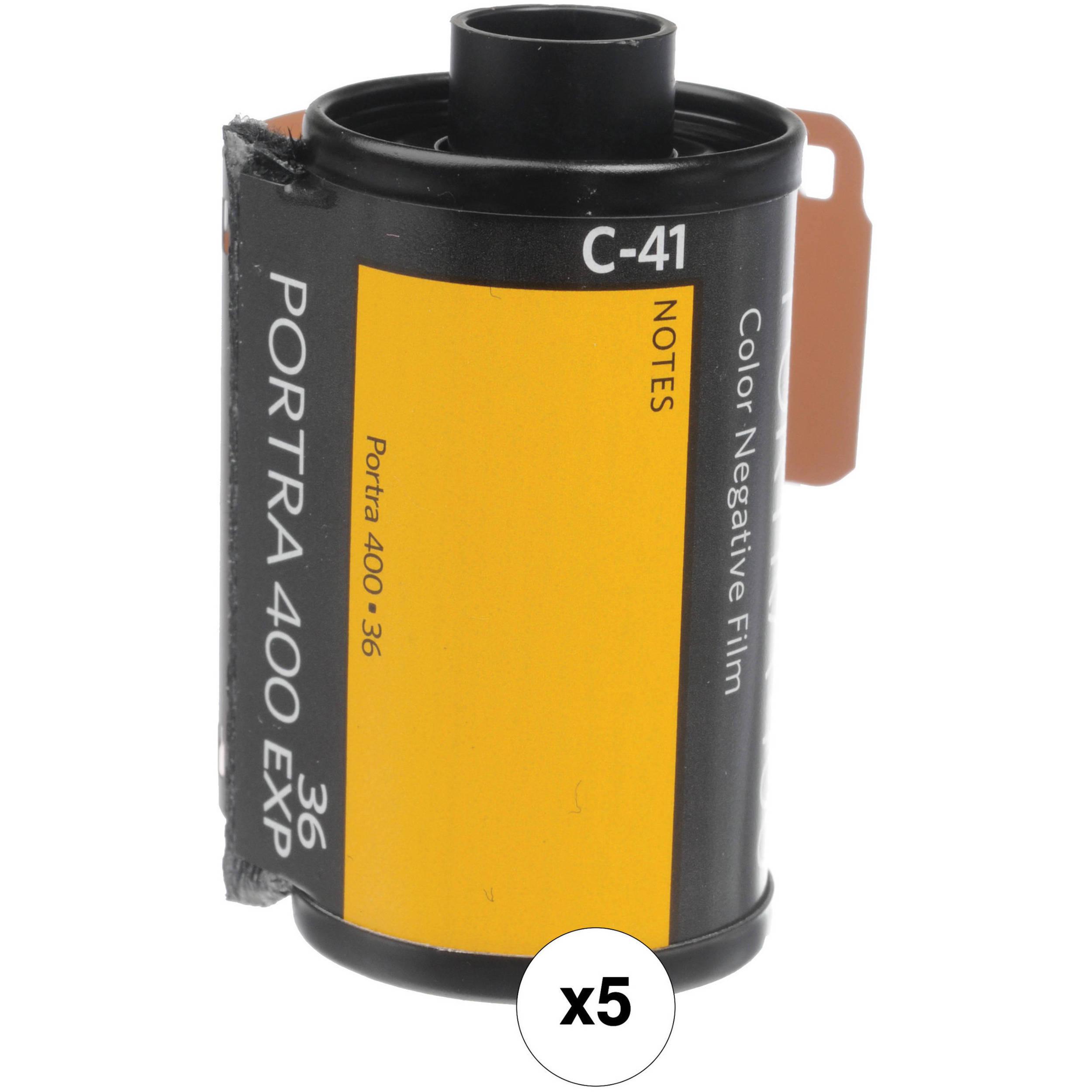 Kodak Professional Portra 400 Color Negative Film 6031678 B&H
