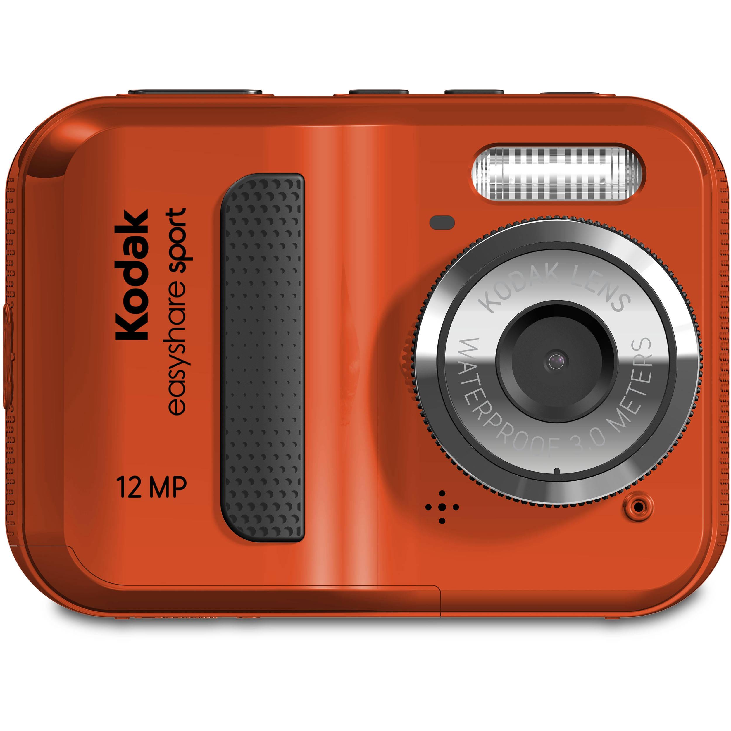 kodak easyshare sport c123 digital camera red 8431504 b h rh bhphotovideo com Kodak EasyShare Mini Kodak EasyShare Sport Software