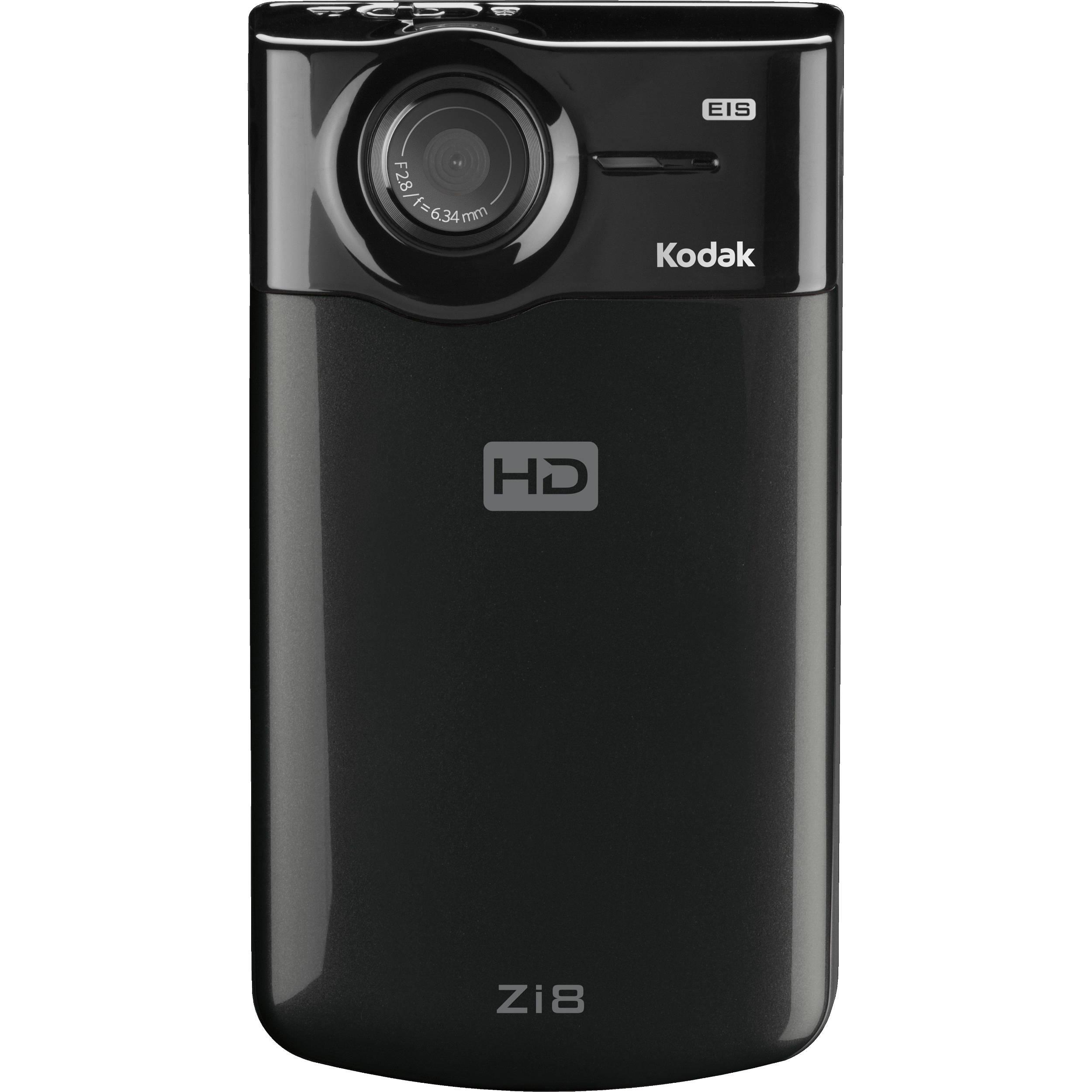kodak zi8 pocket video camera black 8796062 b h photo video rh bhphotovideo com Kodak Black Kodak Black