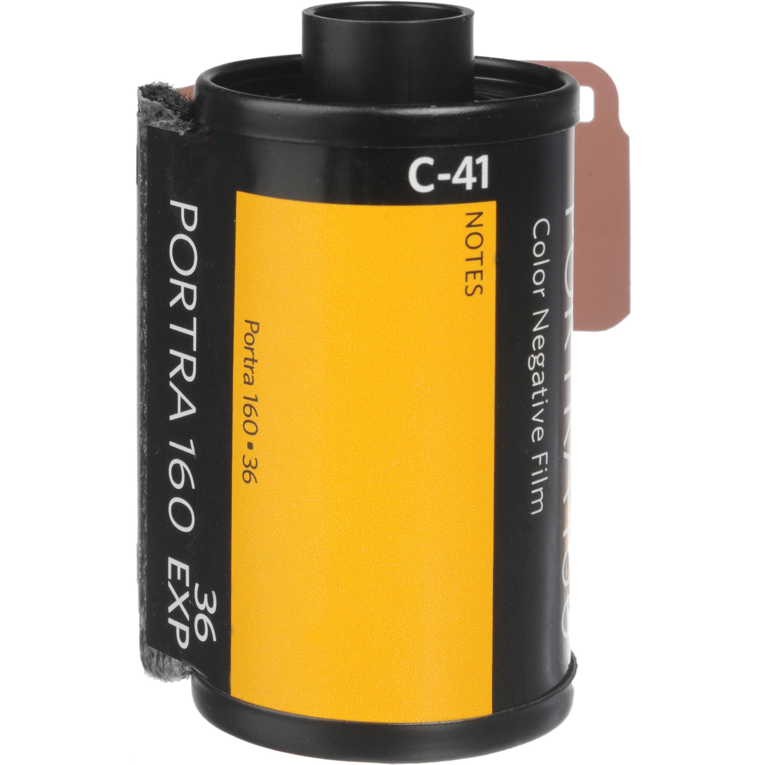 Kodak Professional Portra 160 Color Negative Film 6031959 ...