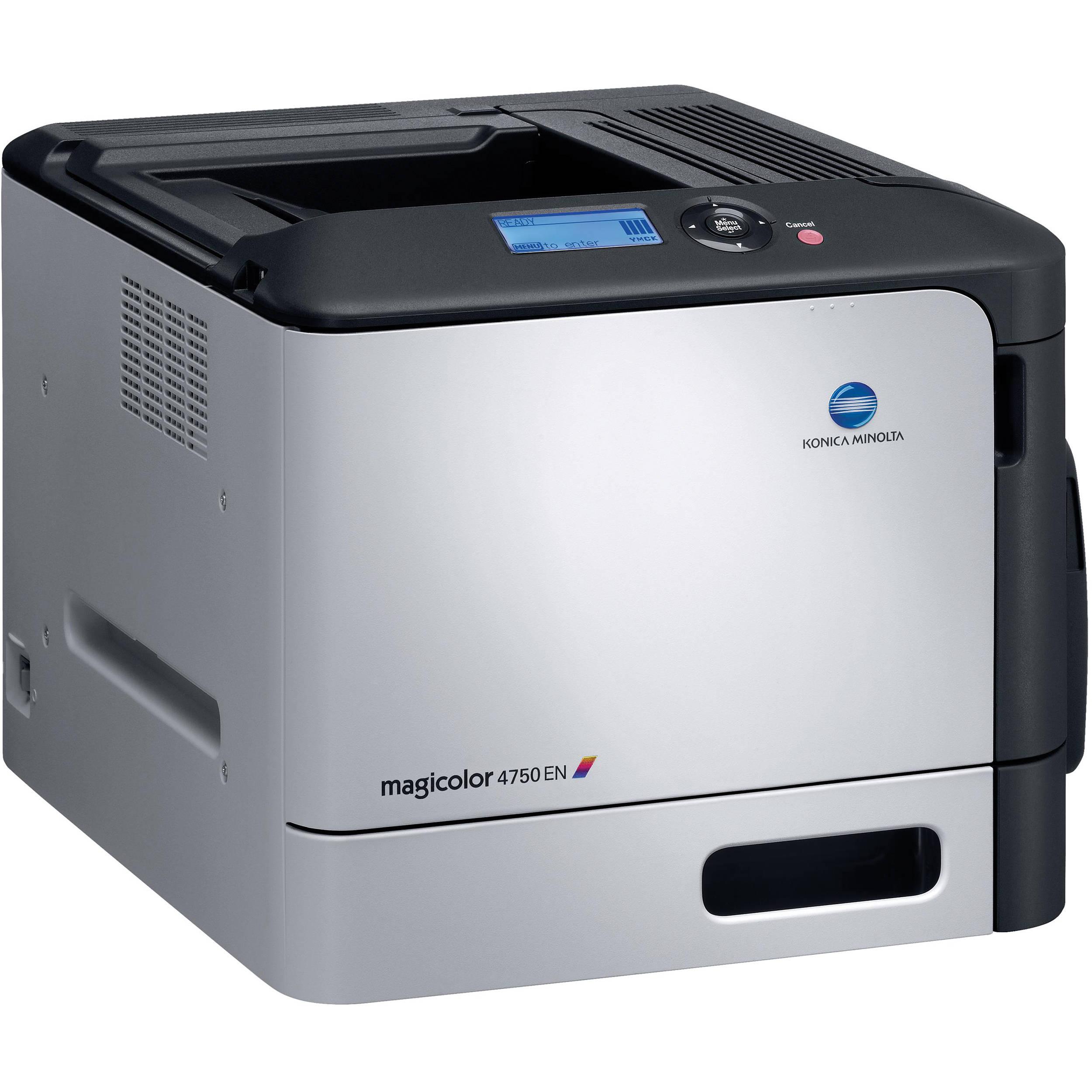 Konica Minolta magicolor 4750EN Printer XPS Drivers Download Free