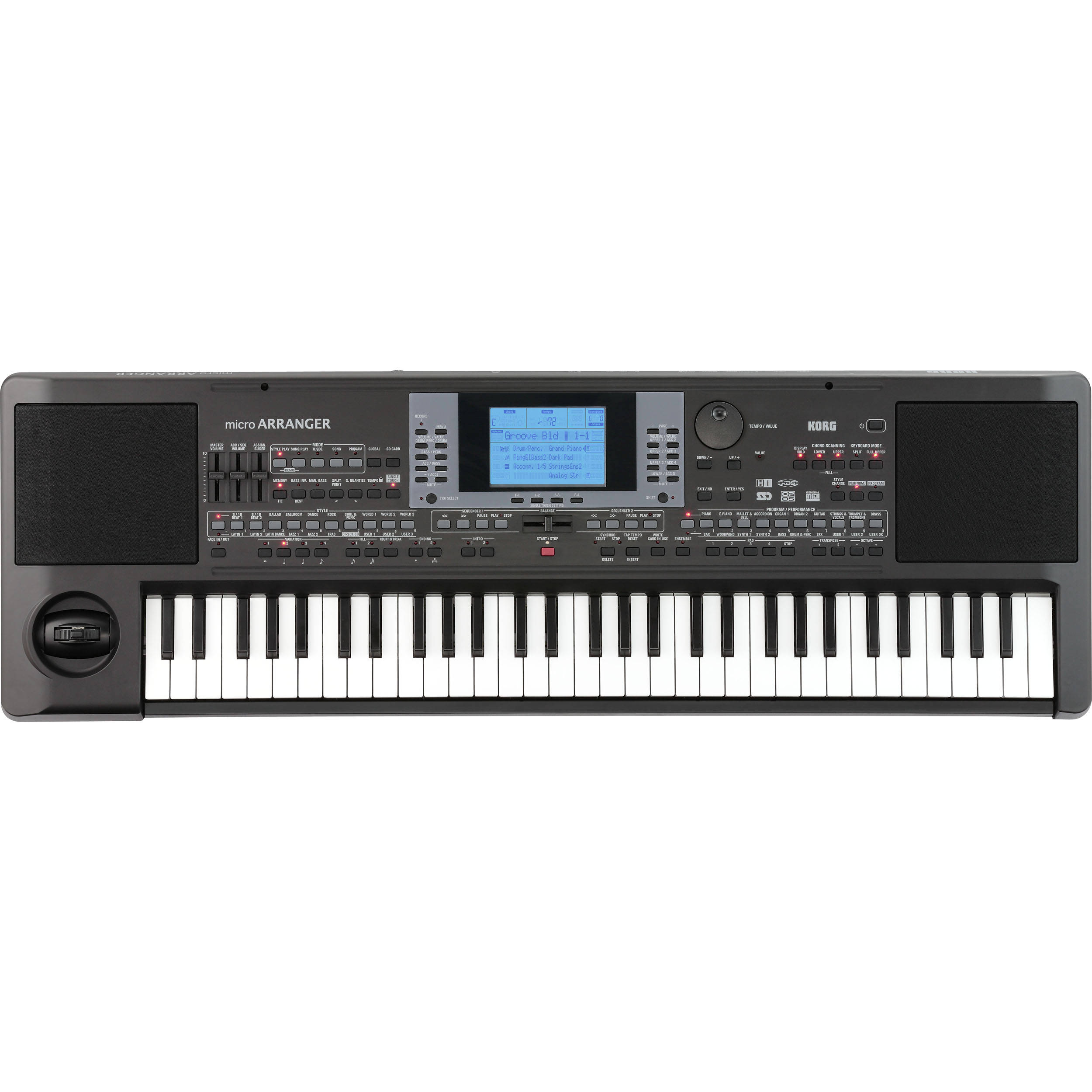 korg microarranger 61 key professional arranger mar1 b h photo rh bhphotovideo com korg microarranger review Korg microARRANGER Demo