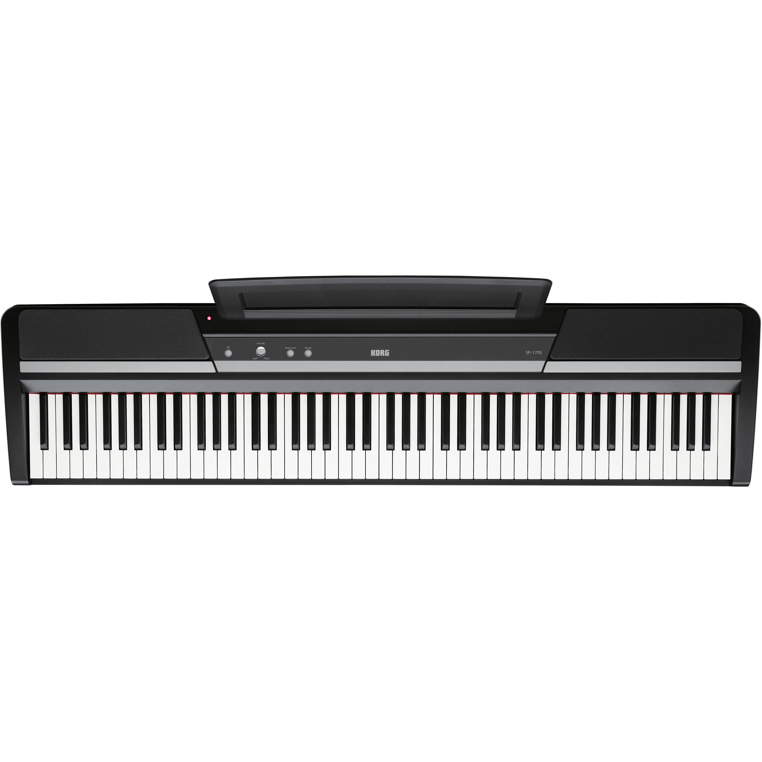 Korg SP 170s 88 Key Digital Piano Black SP 170SBK BampH Photo