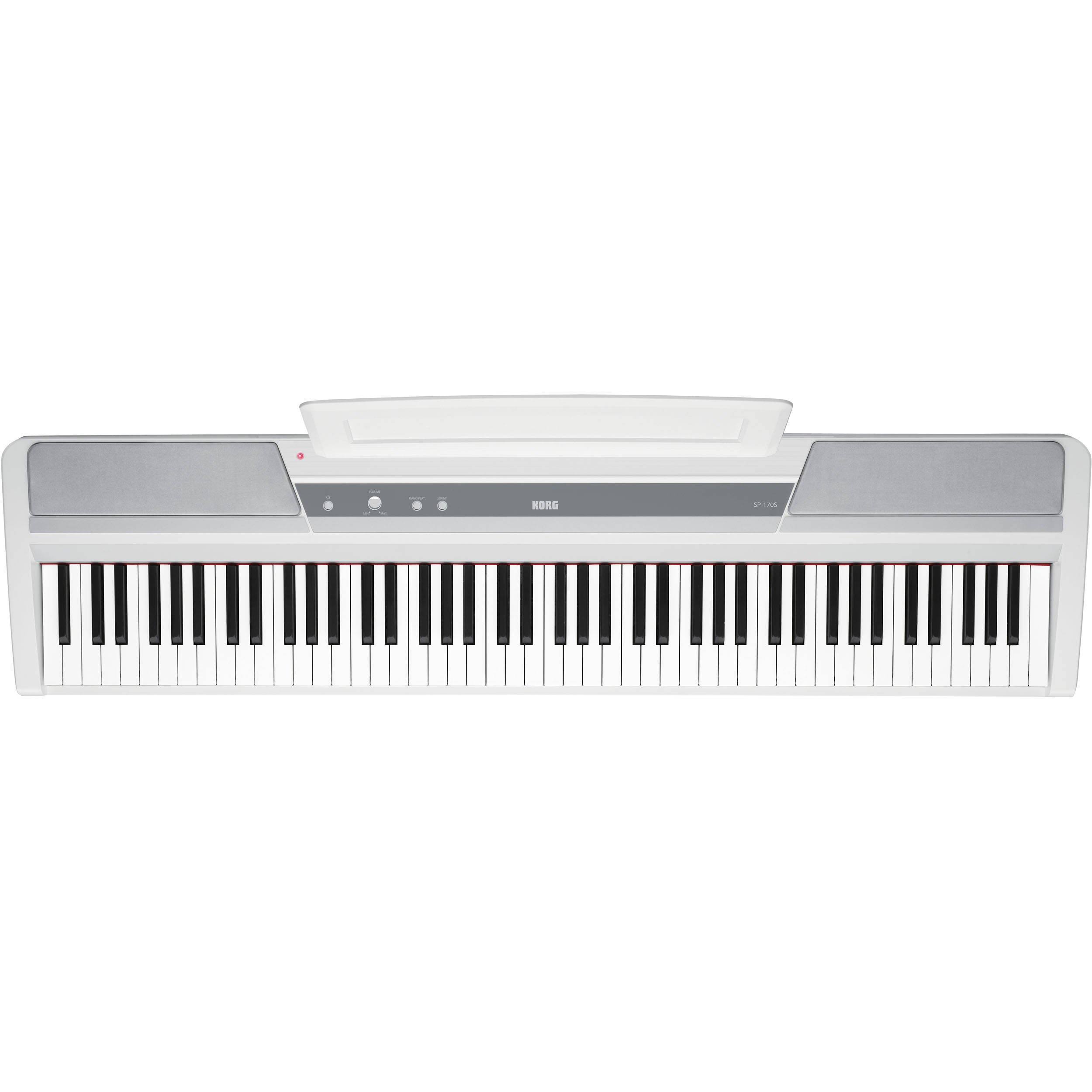 korg sp 170s 88 key digital piano white sp 170swh b h photo. Black Bedroom Furniture Sets. Home Design Ideas